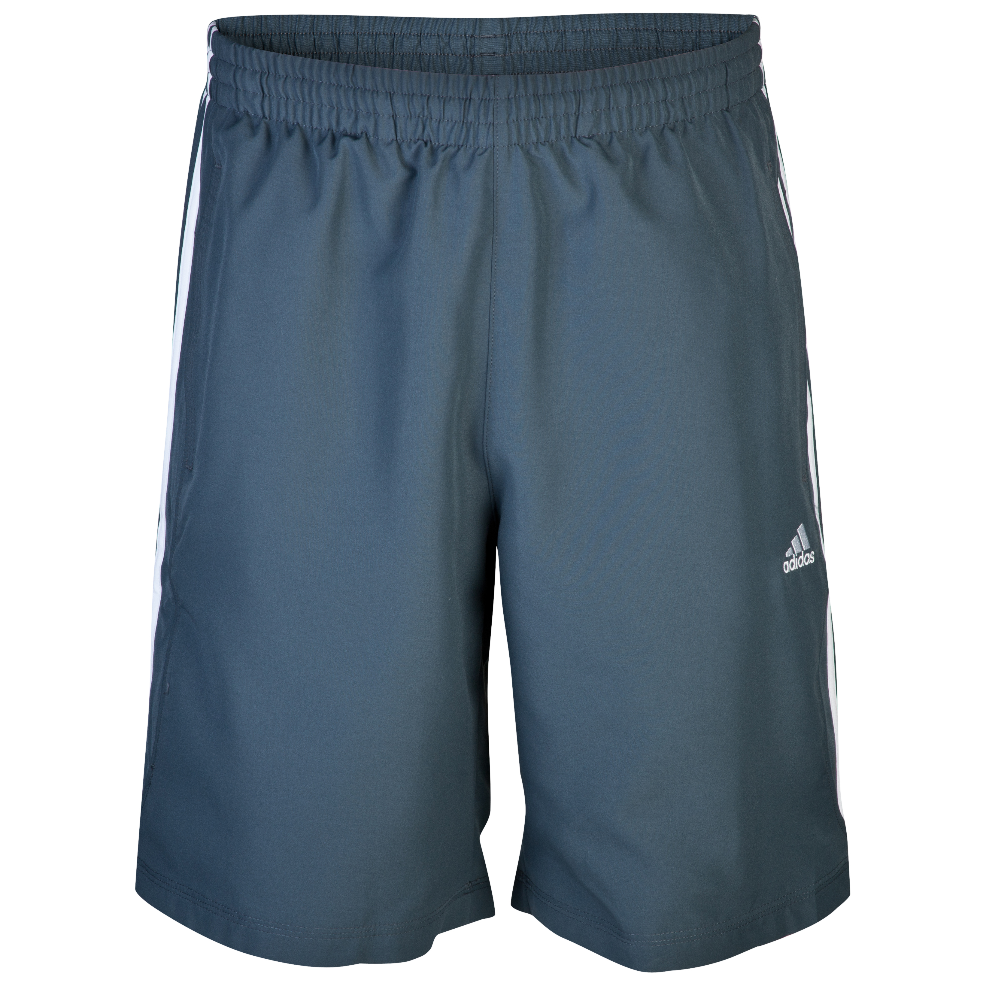 adidas Essentials 3 Stripe Long Short - Dark Onix