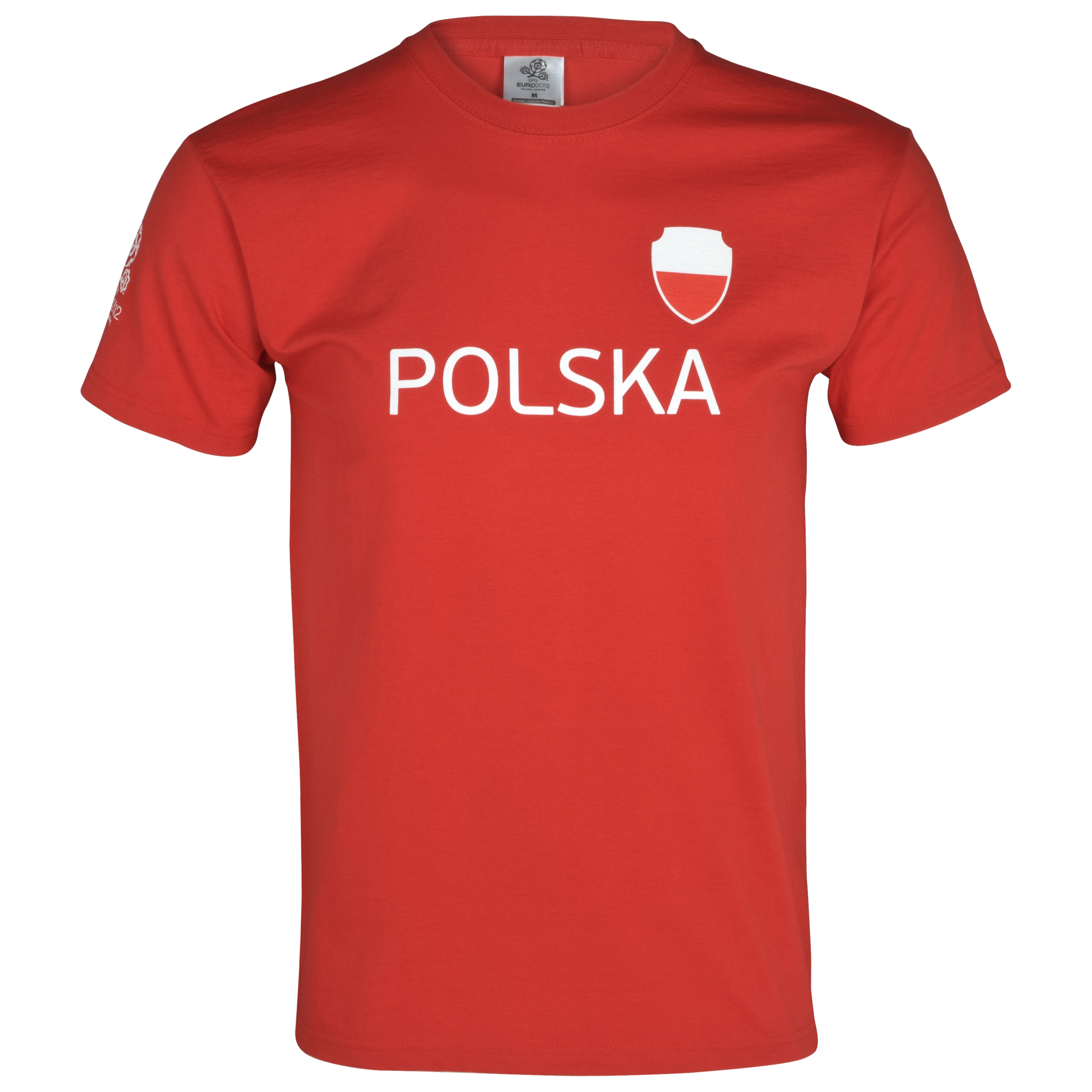 Euro 2012 Poland T-Shirt - Red/White