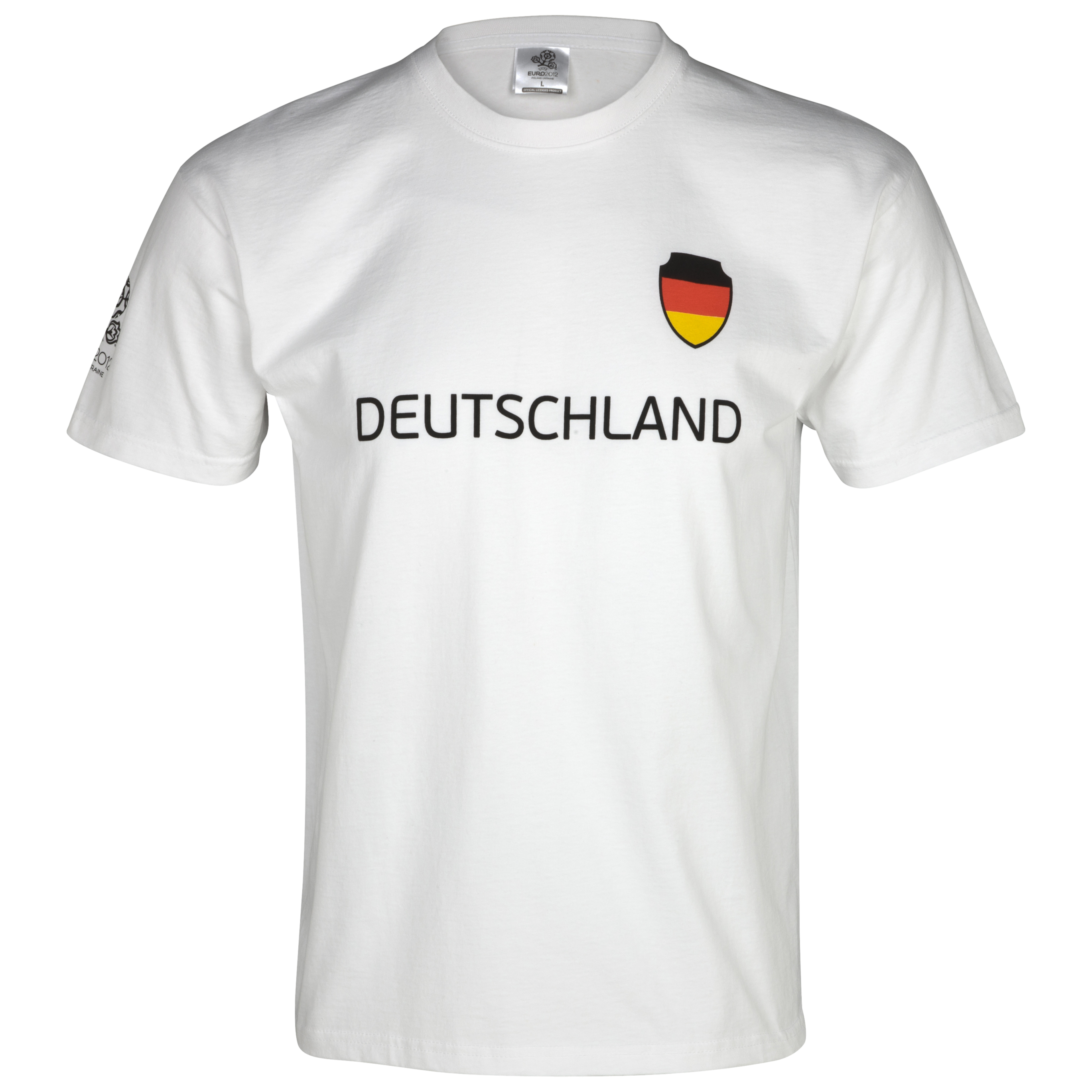 Euro 2012 Germany T-Shirt - White/Black
