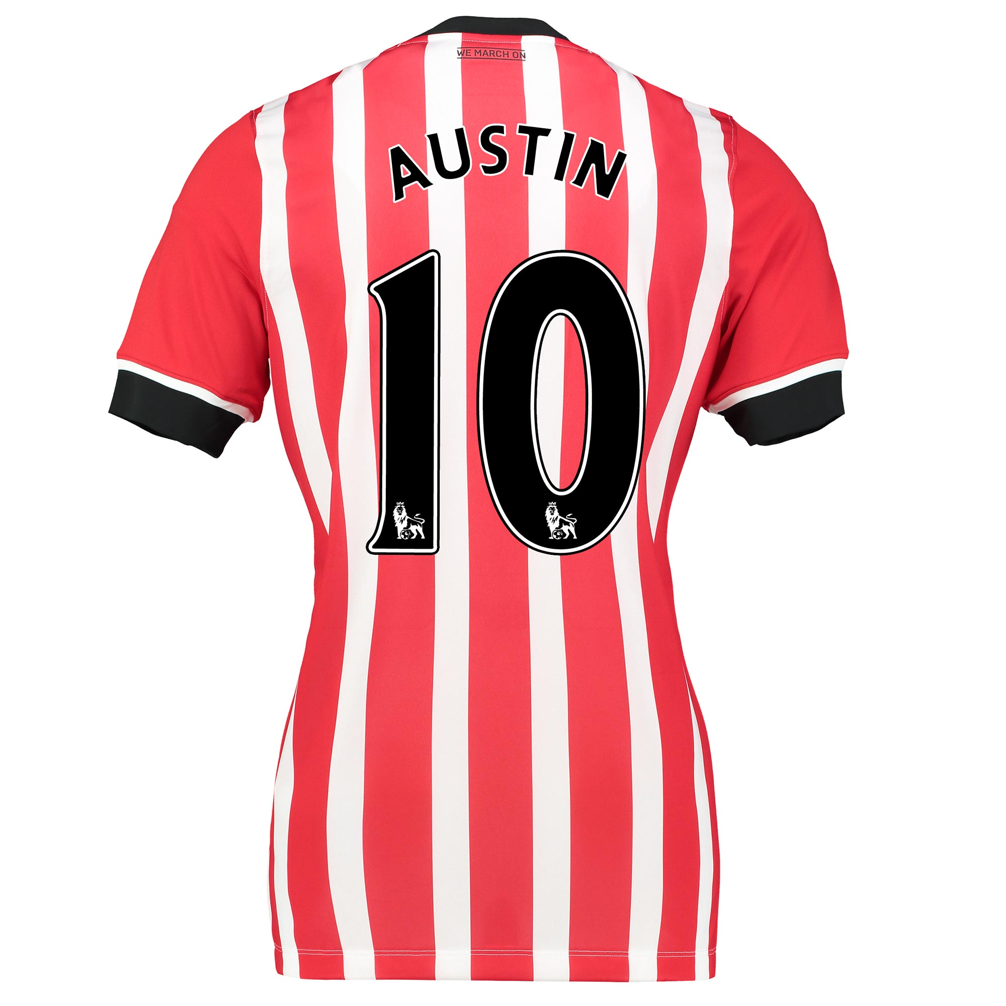 Image of Southampton Home Shirt 2016-17 - Womens Red with Charlie Austin 10 pri, Red
