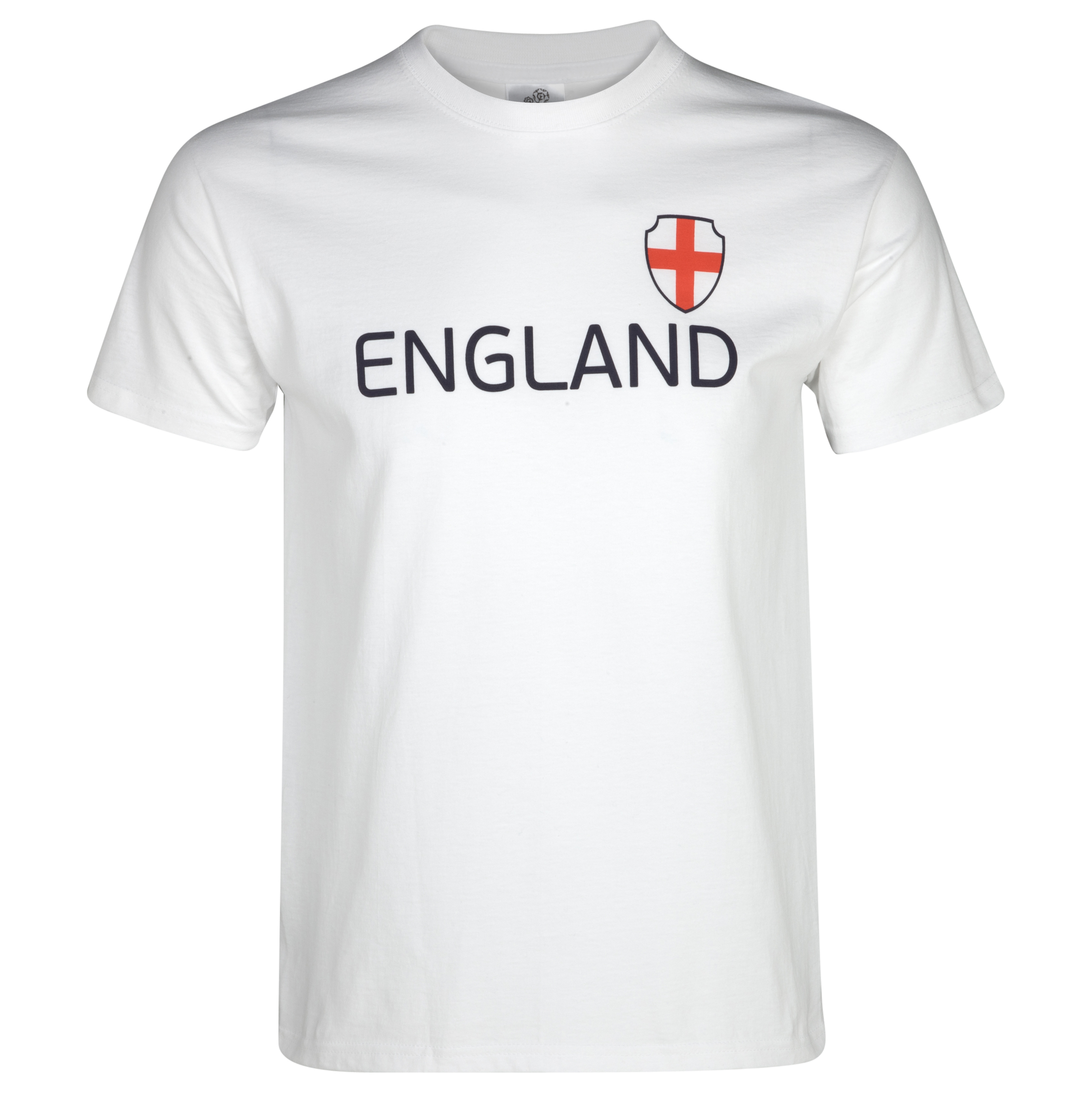 England T-Shirt - White/Blue