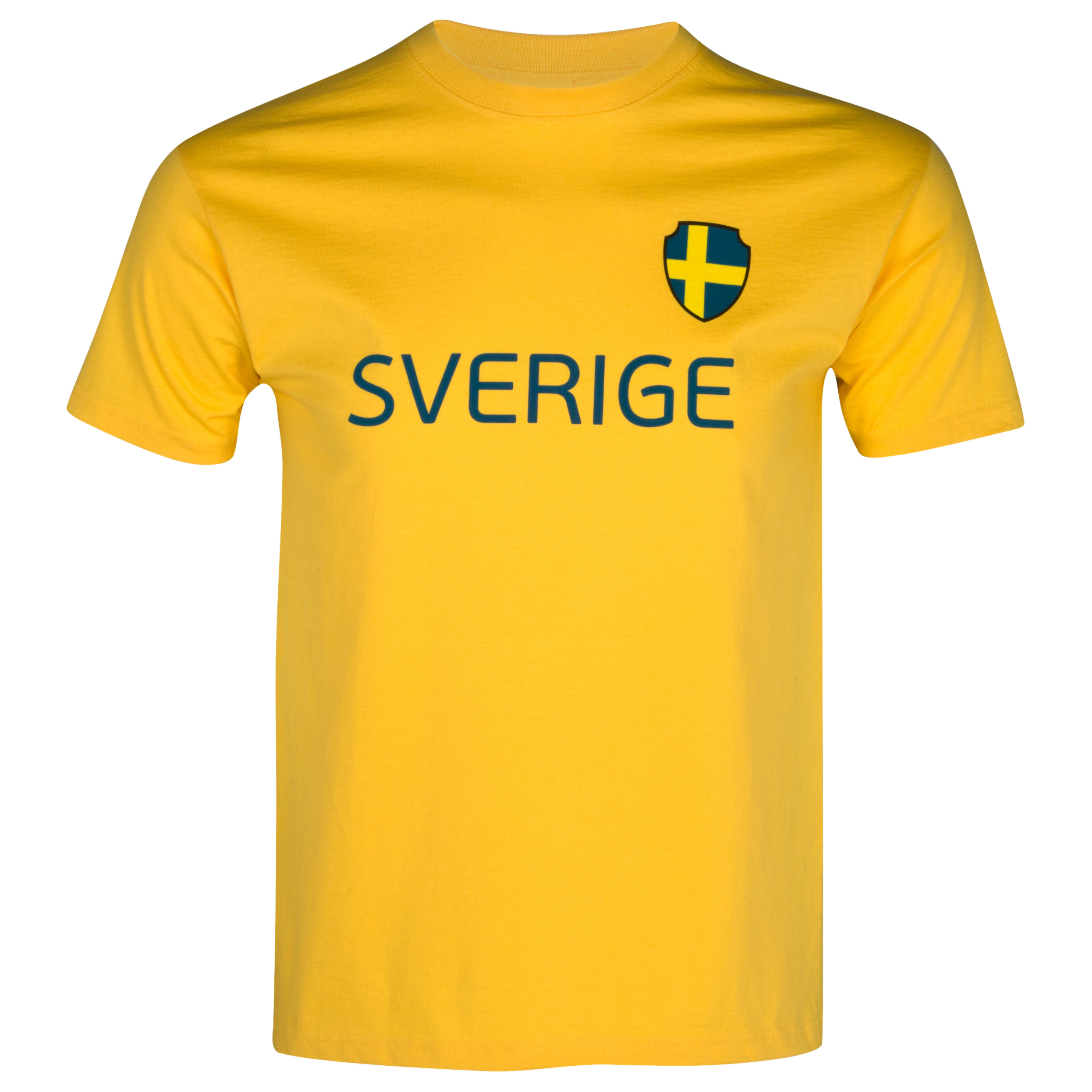 Euro 2012 Sweden T-Shirt - Yellow/Blue