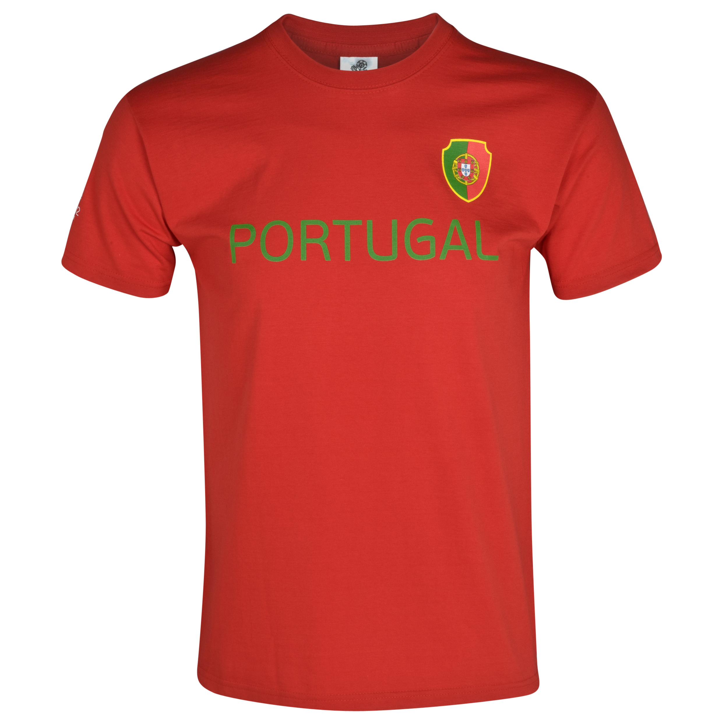 Euro 2012 Portugal T-Shirt - Red/Green