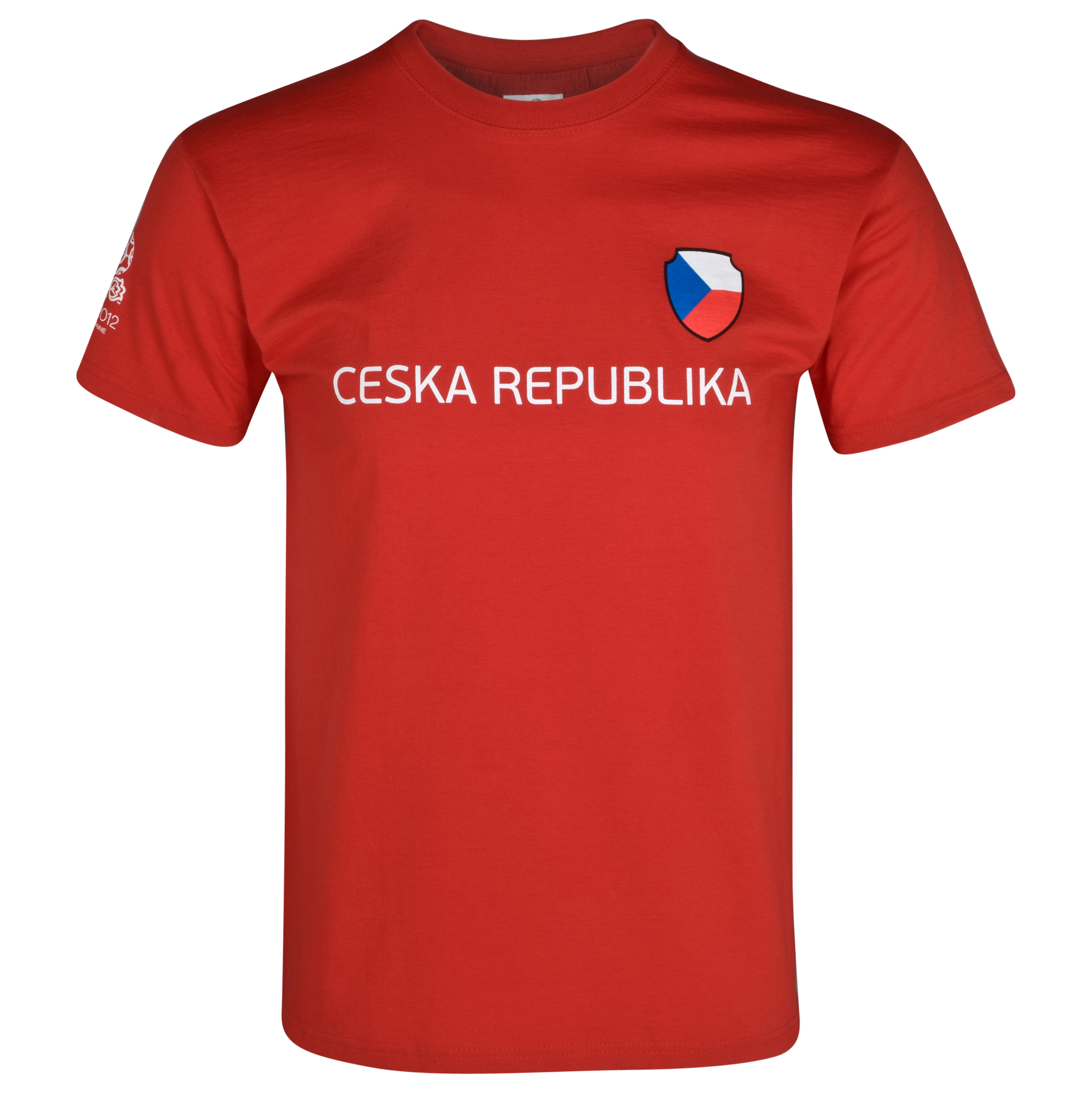 Euro 2012 Czech Republic T-Shirt - Red/White