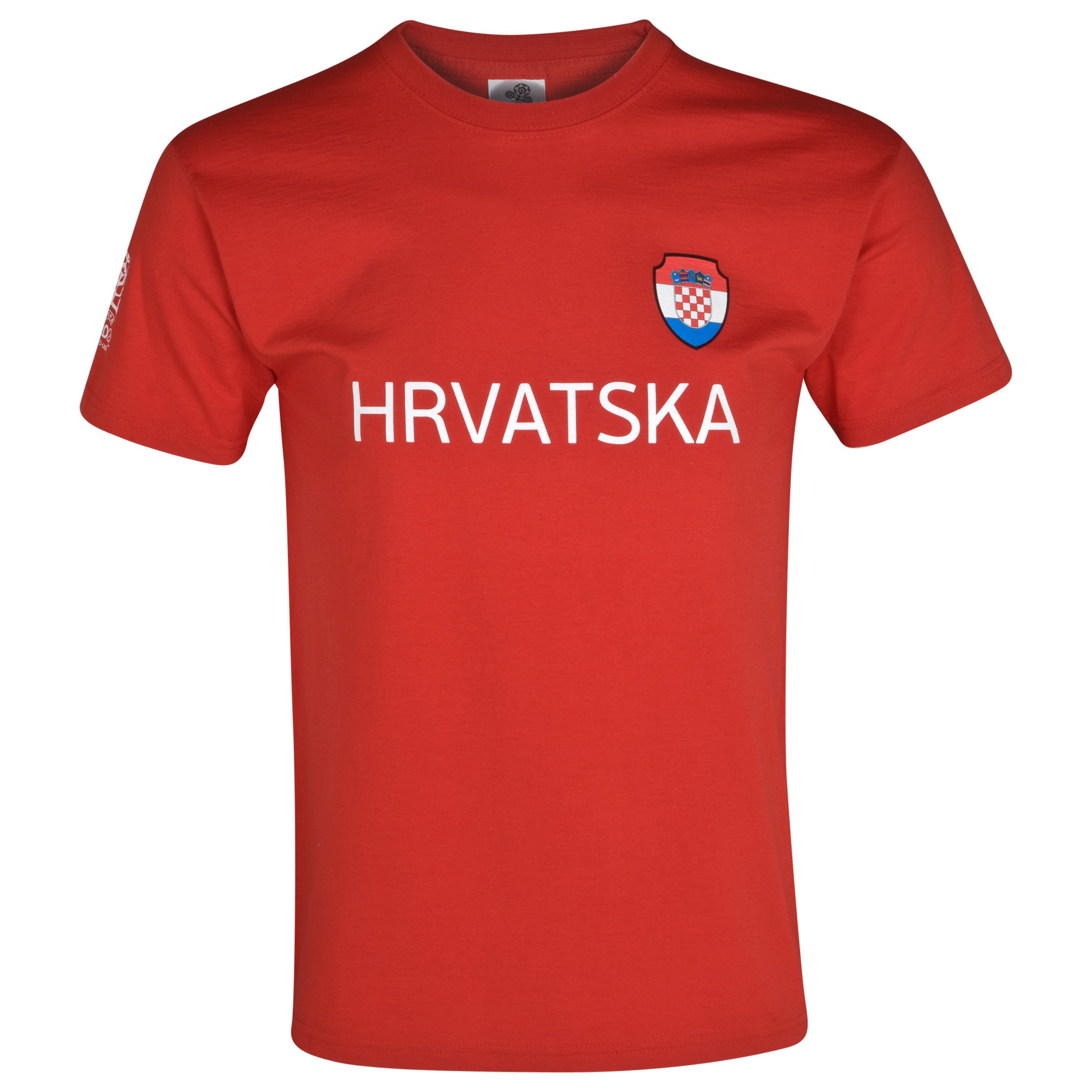 Euro 2012 Croatia T-Shirt - Red/White