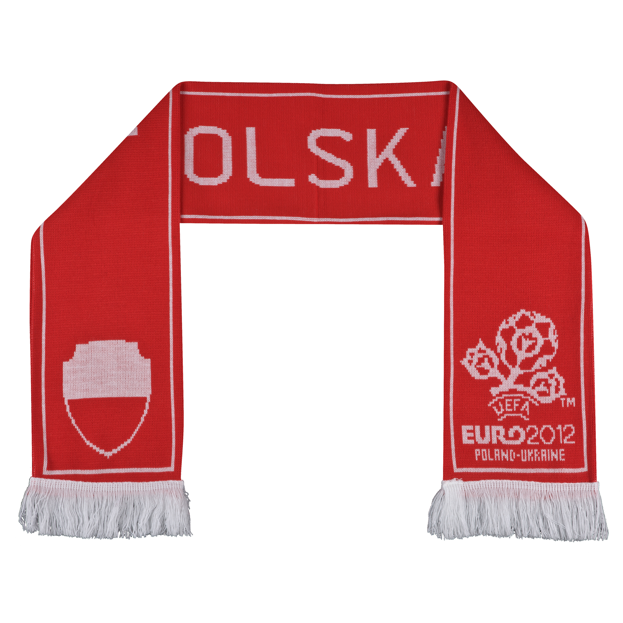 Euro 2012 Poland Jacquard Scarf