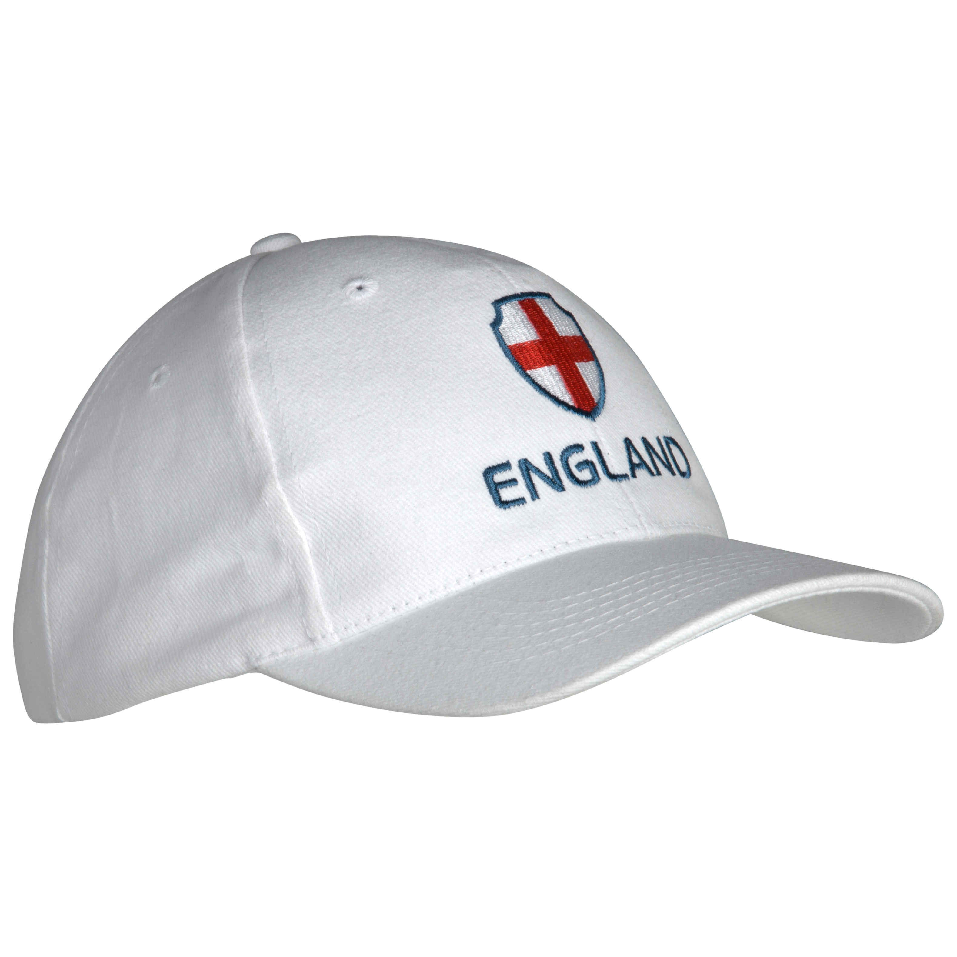 England Cap - White/Blue/Red