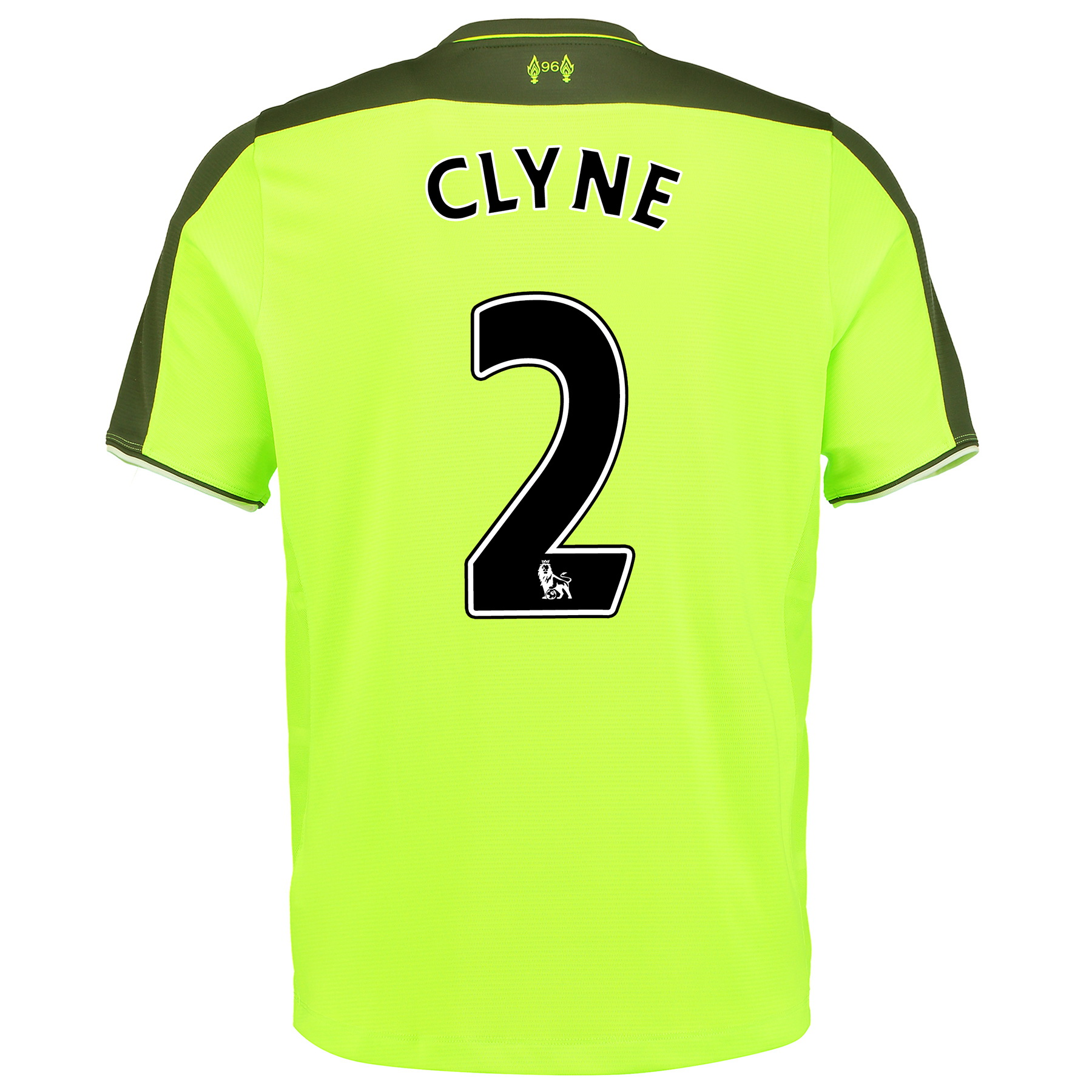 Liverpool Third Infant Kit 2016-17 with Clyne 2 printing, Green