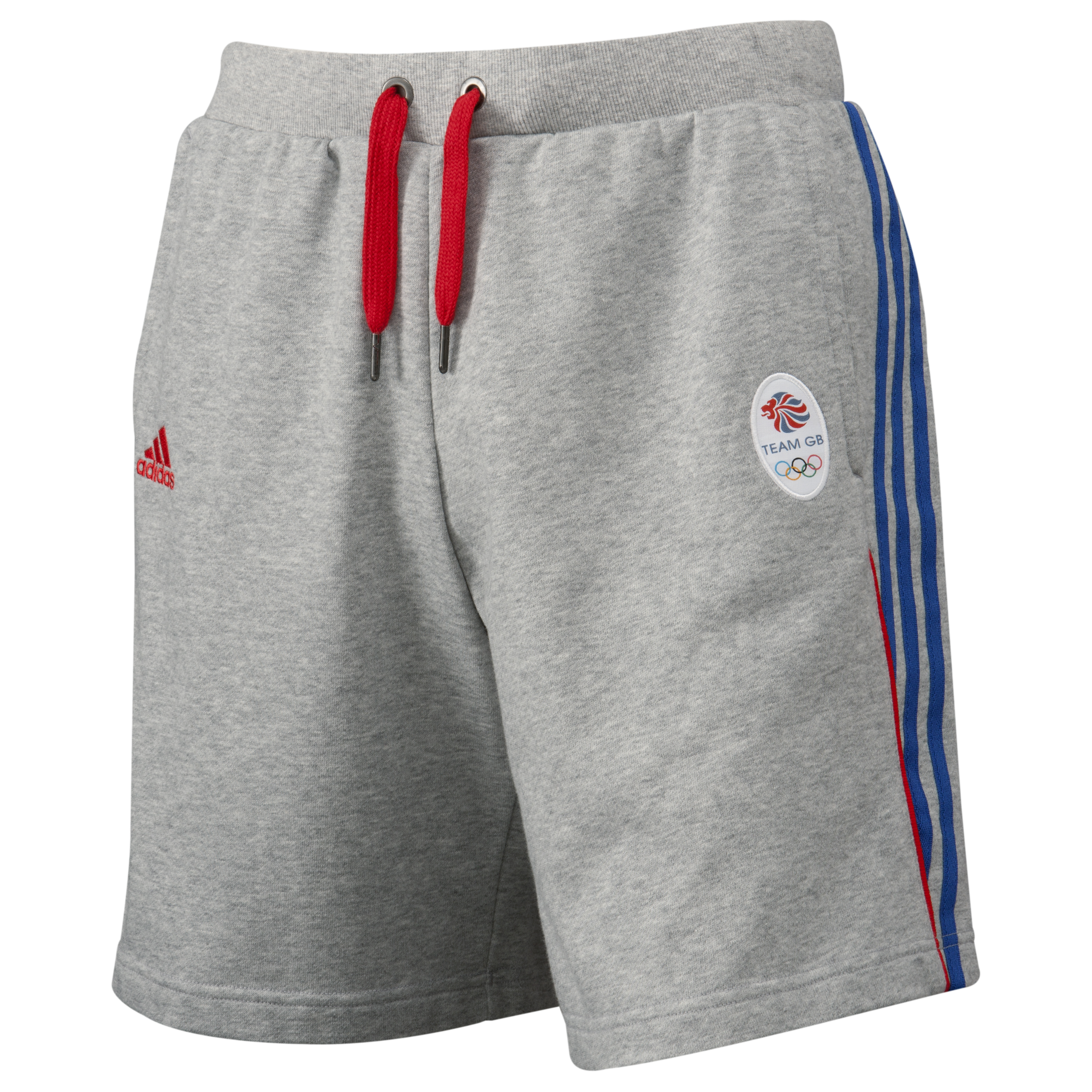 adidas Team GB Knit Short - Medium Grey Heather/Victory Blue S07