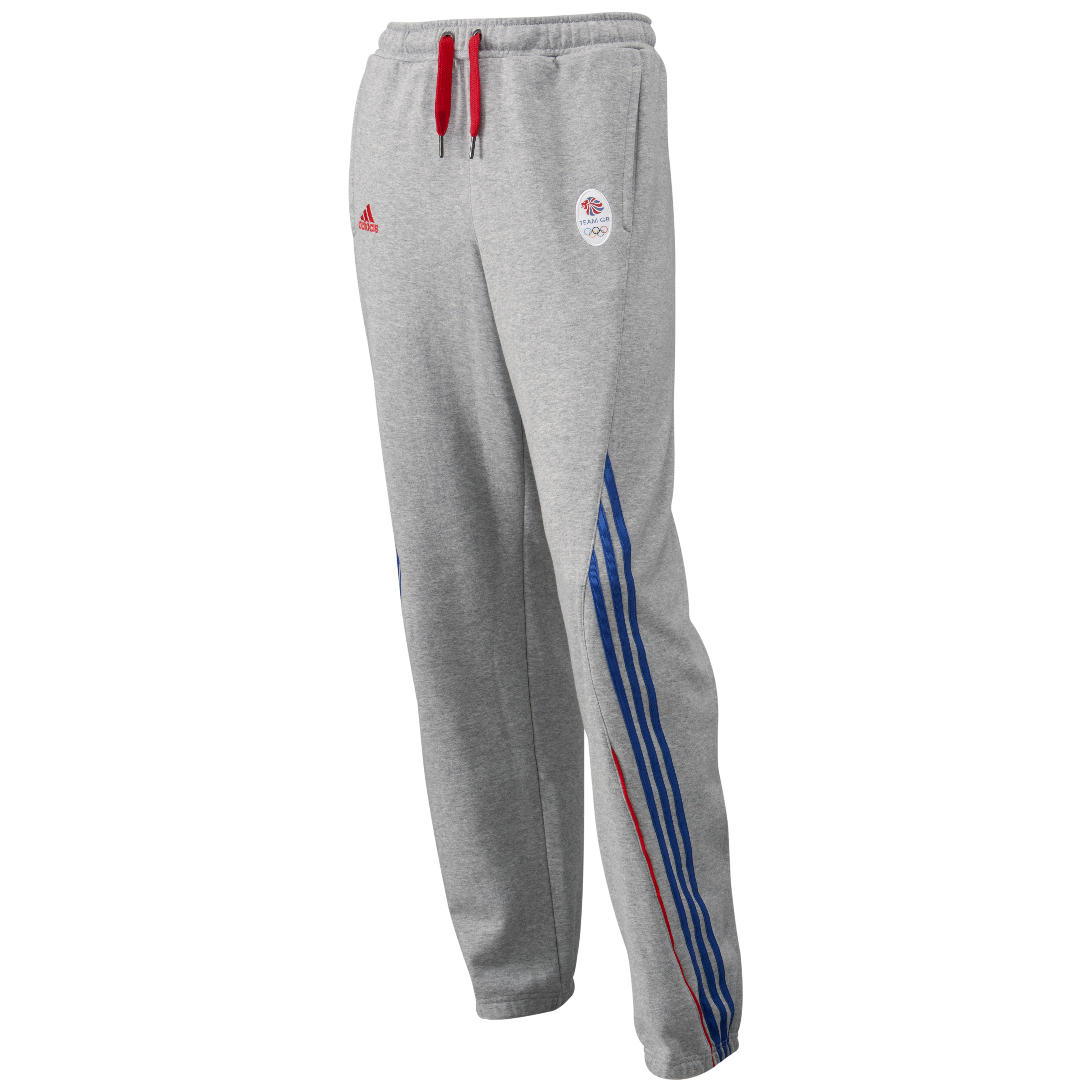 adidas Team GB Knit Pant - Medium Grey Heather/Victory Blue S07