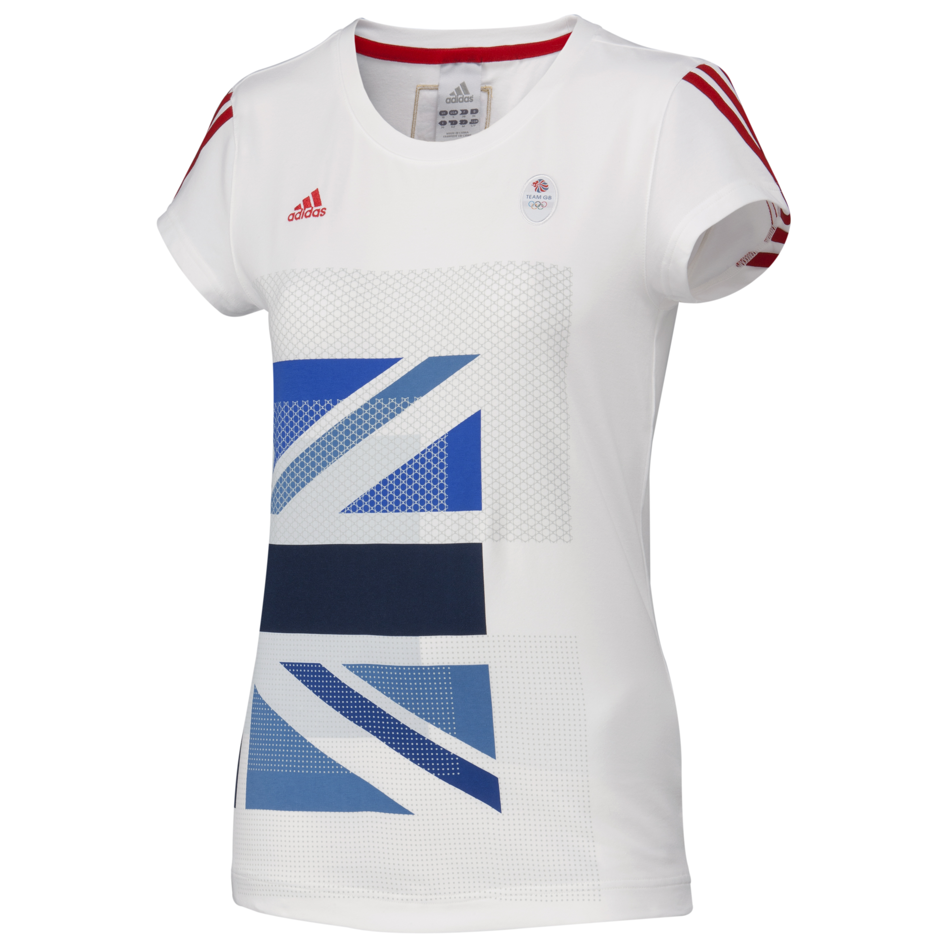 adidas Team GB Graphic T-Shirt - White - Women