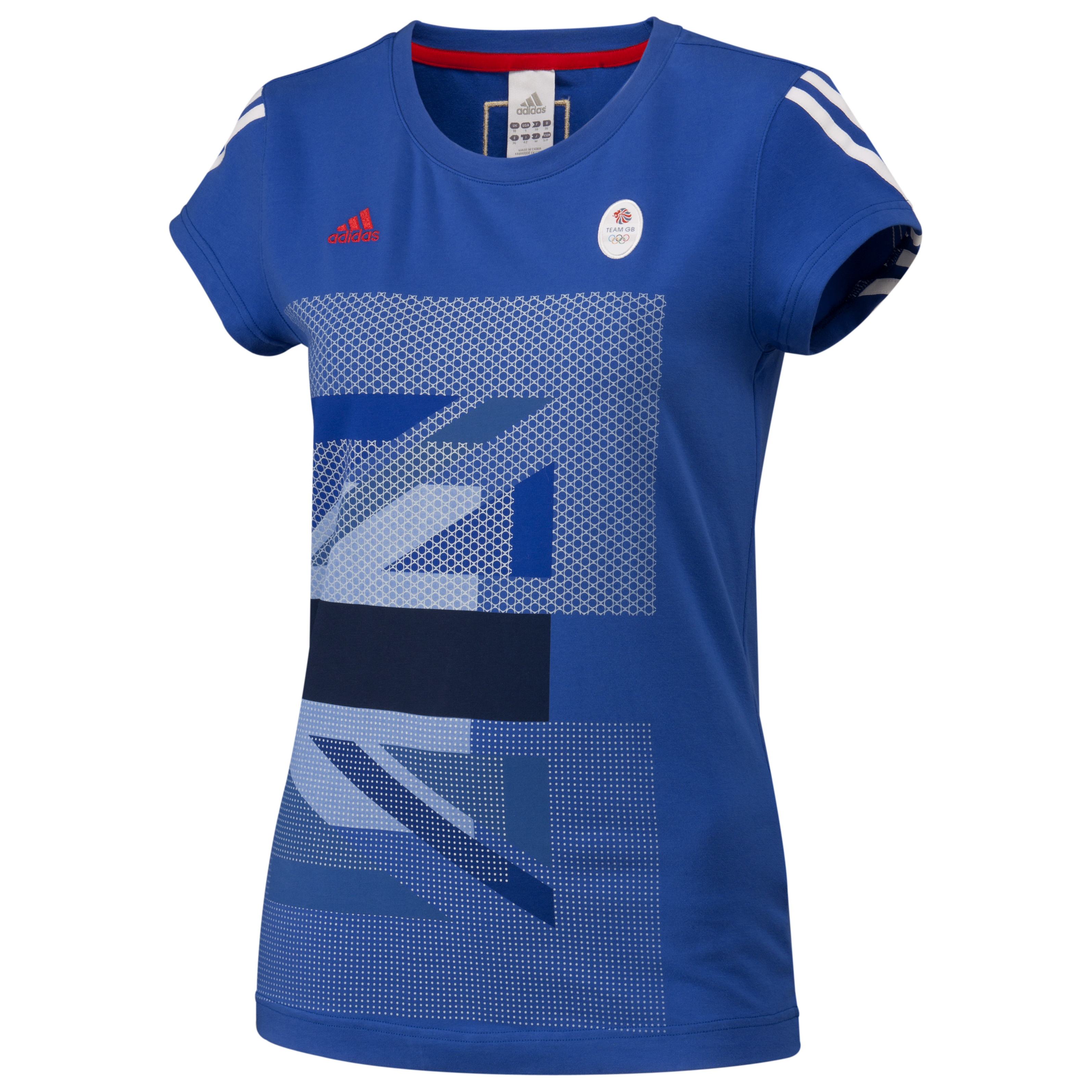 adidas Team GB Graphic T-Shirt - Victory Blue S07 - Women