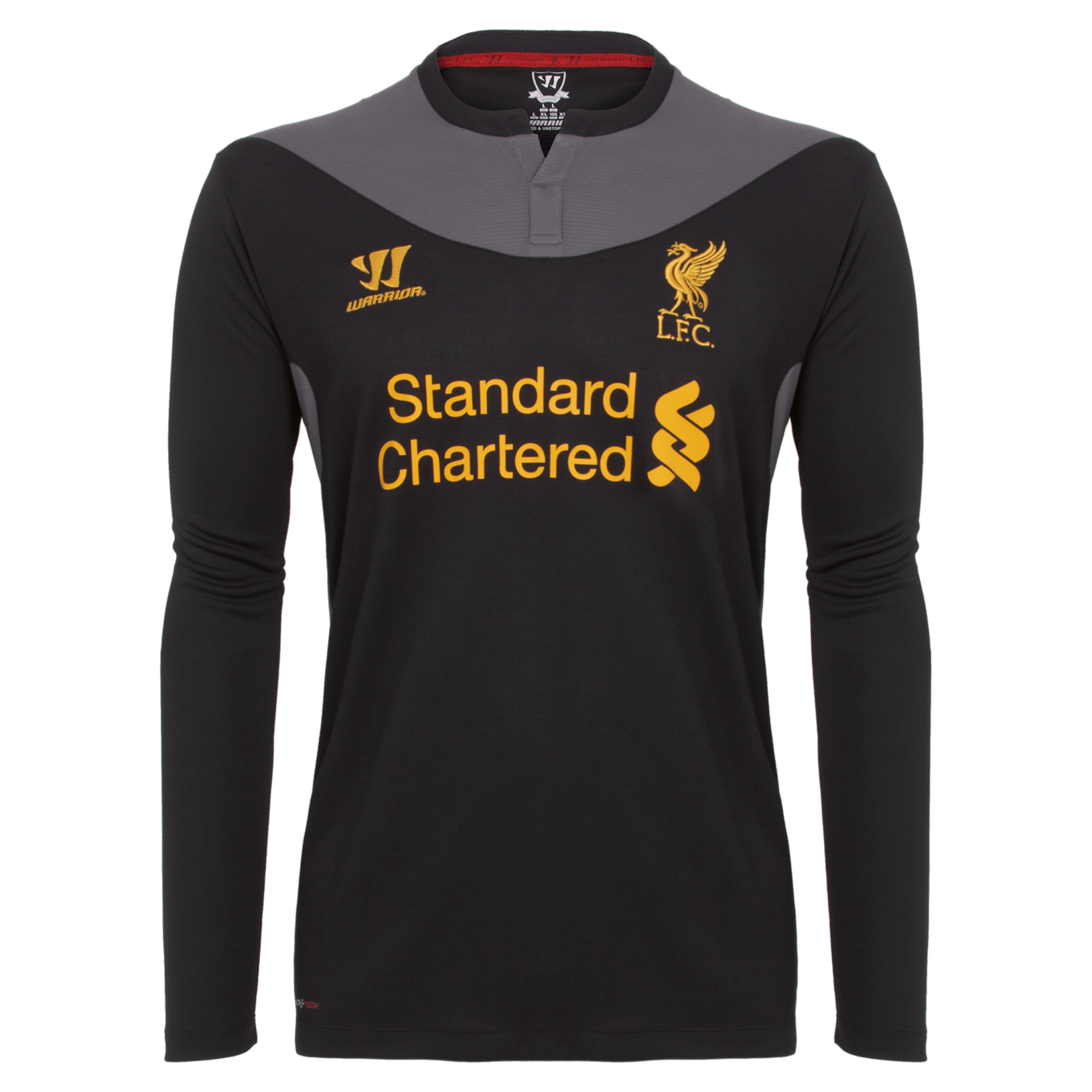 Liverpool Away Shirt 2012/13 Long Sleeve