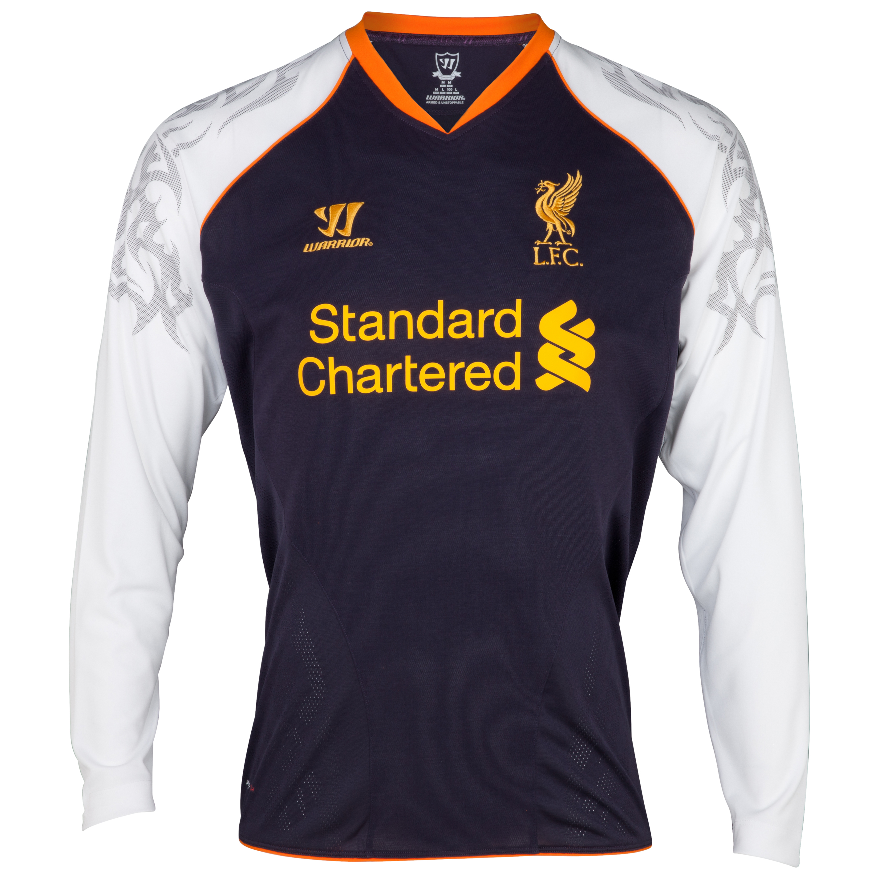Liverpool Third Shirt 2012/13 Long Sleeve