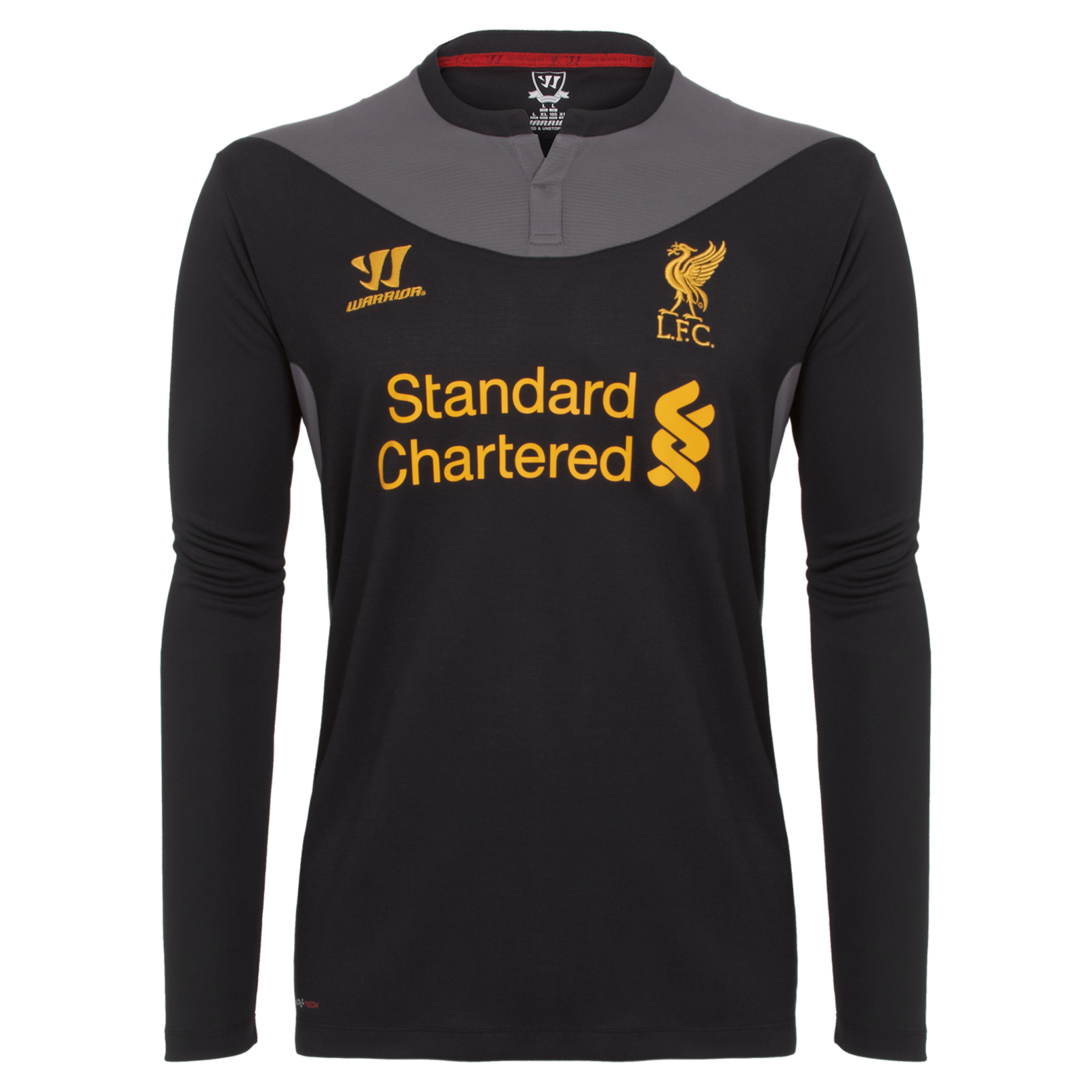 Liverpool Away Shirt 2012/13 Long Sleeve Kids