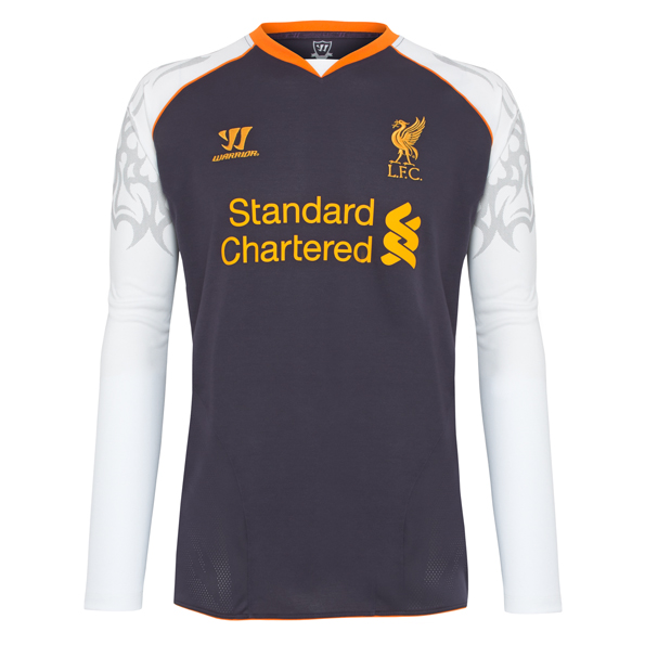 Liverpool Third Shirt 2012/13 Long Sleeve Kids