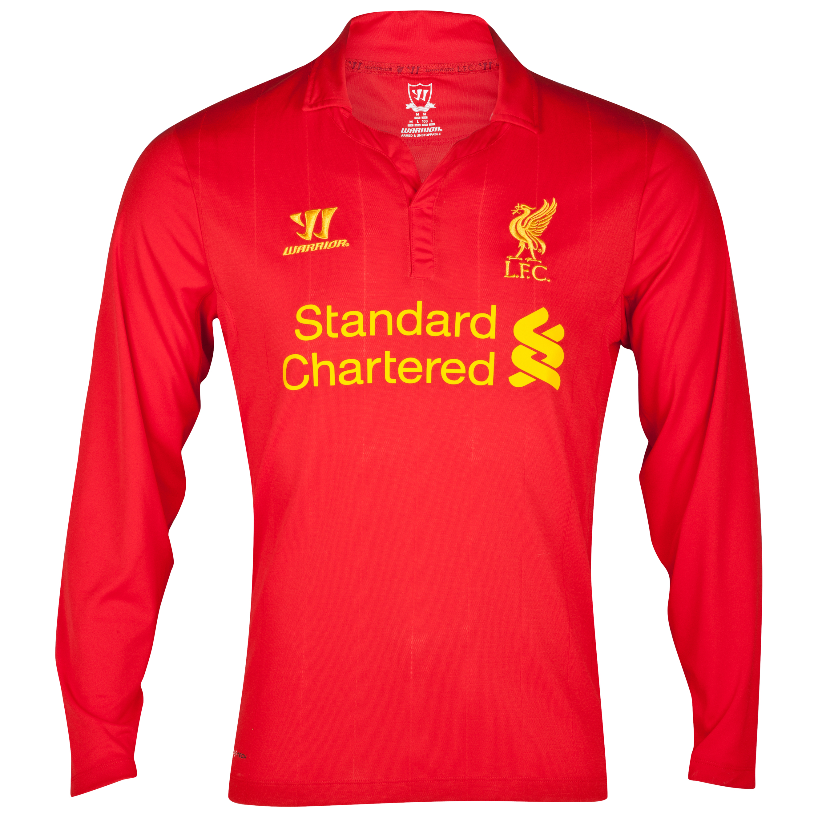 Liverpool Home Shirt 2012/13 Long Sleeve Youths