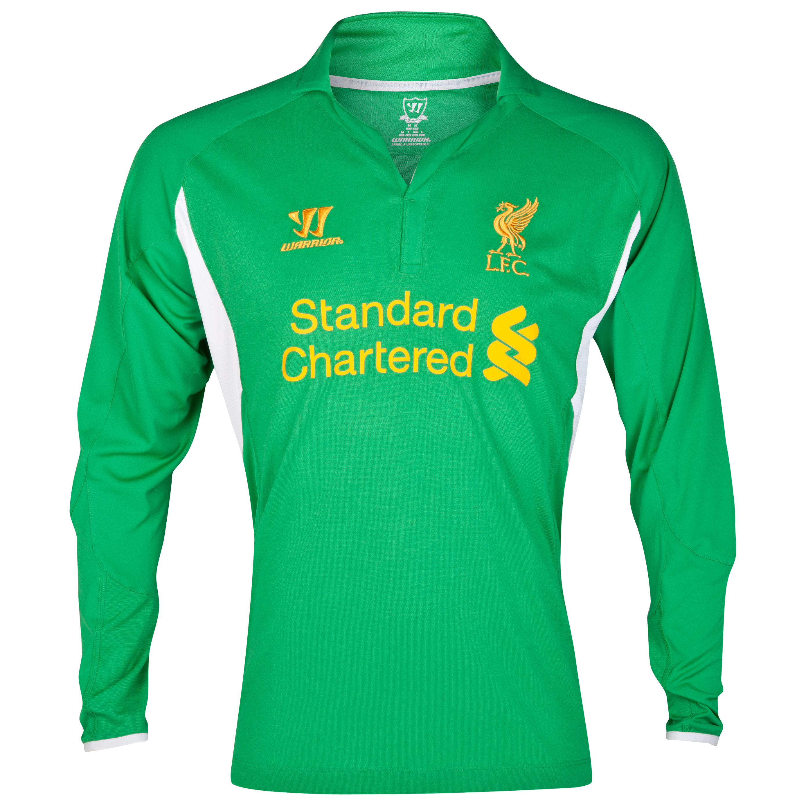 Liverpool Home Goalkeeper Shirt 2012/13 Youths