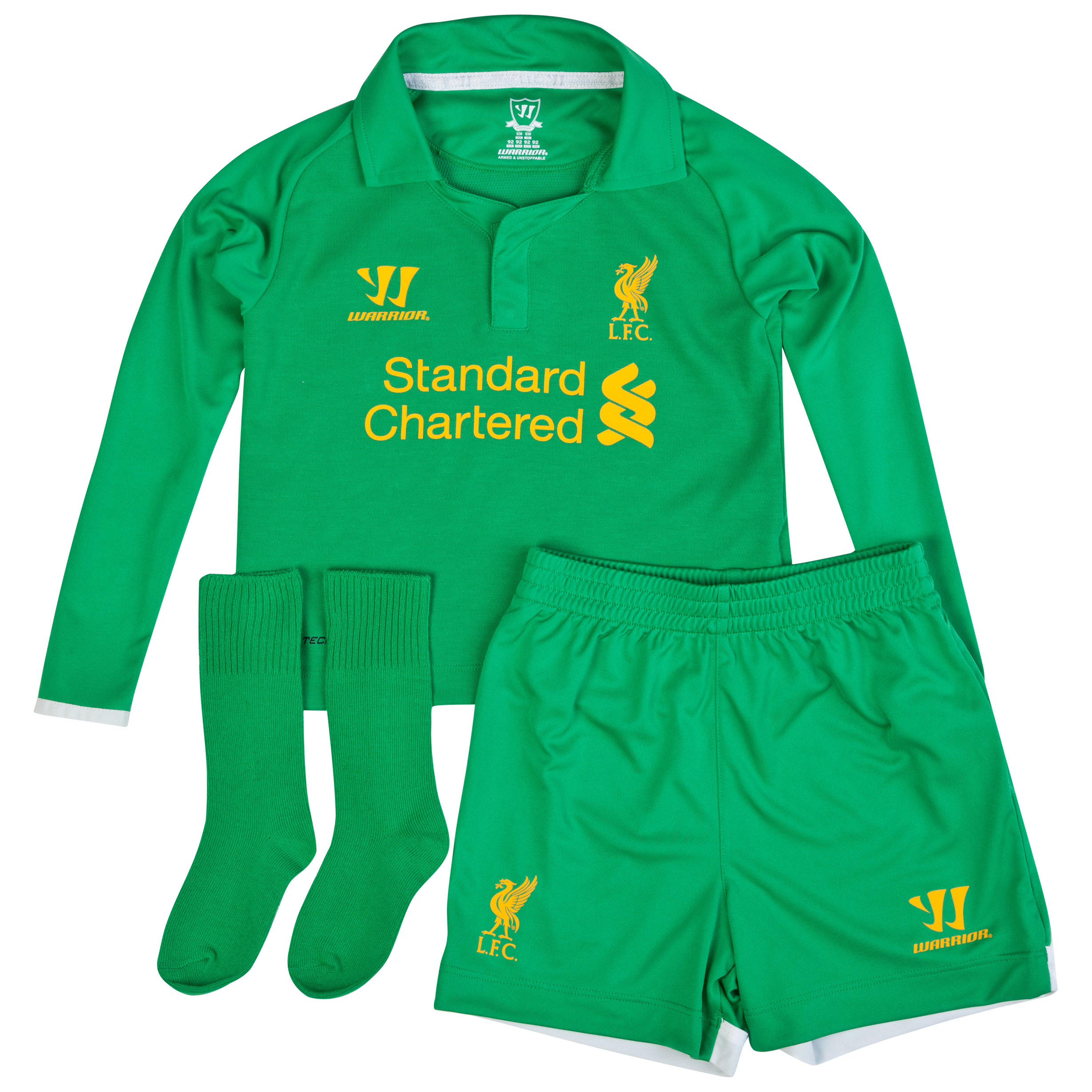 Liverpool Home Goalkeeper Infant Kit 2012/13