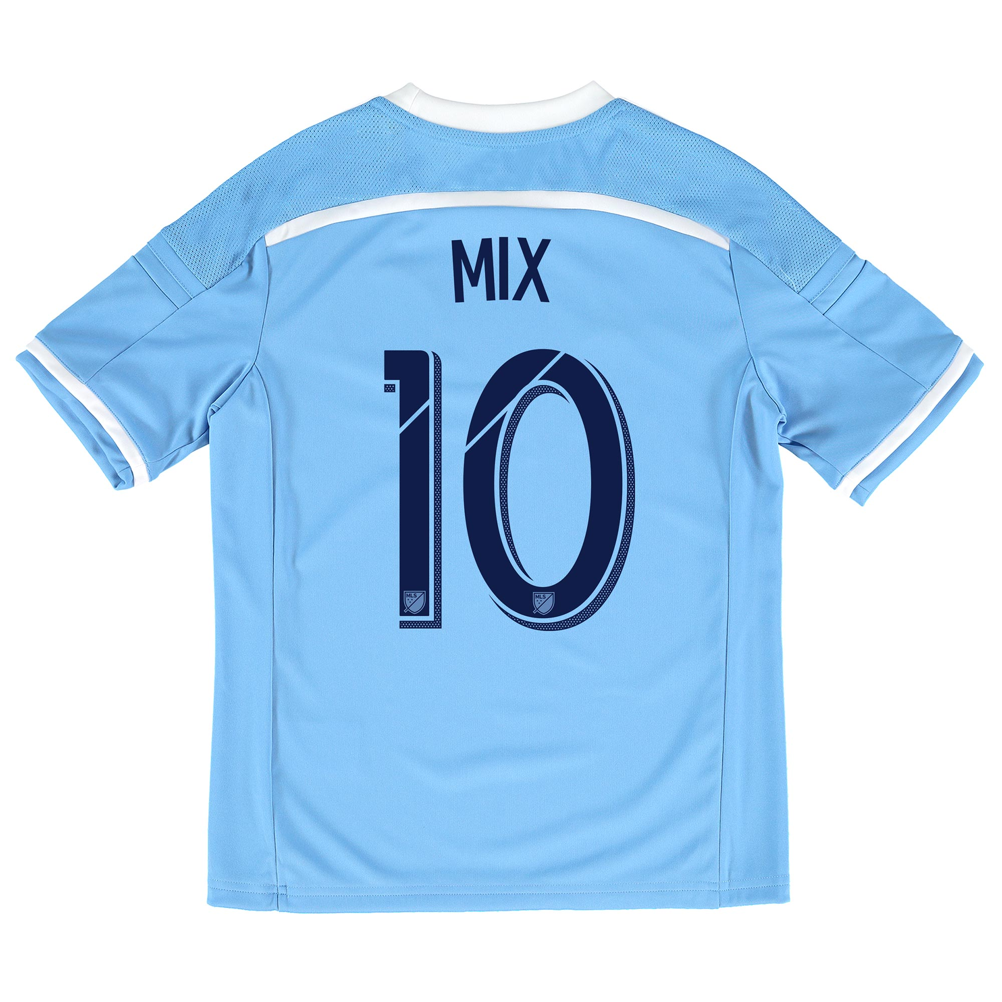 New York City FC Home Shirt 2015-16 - Kids with Mix Diskerud 10 printi