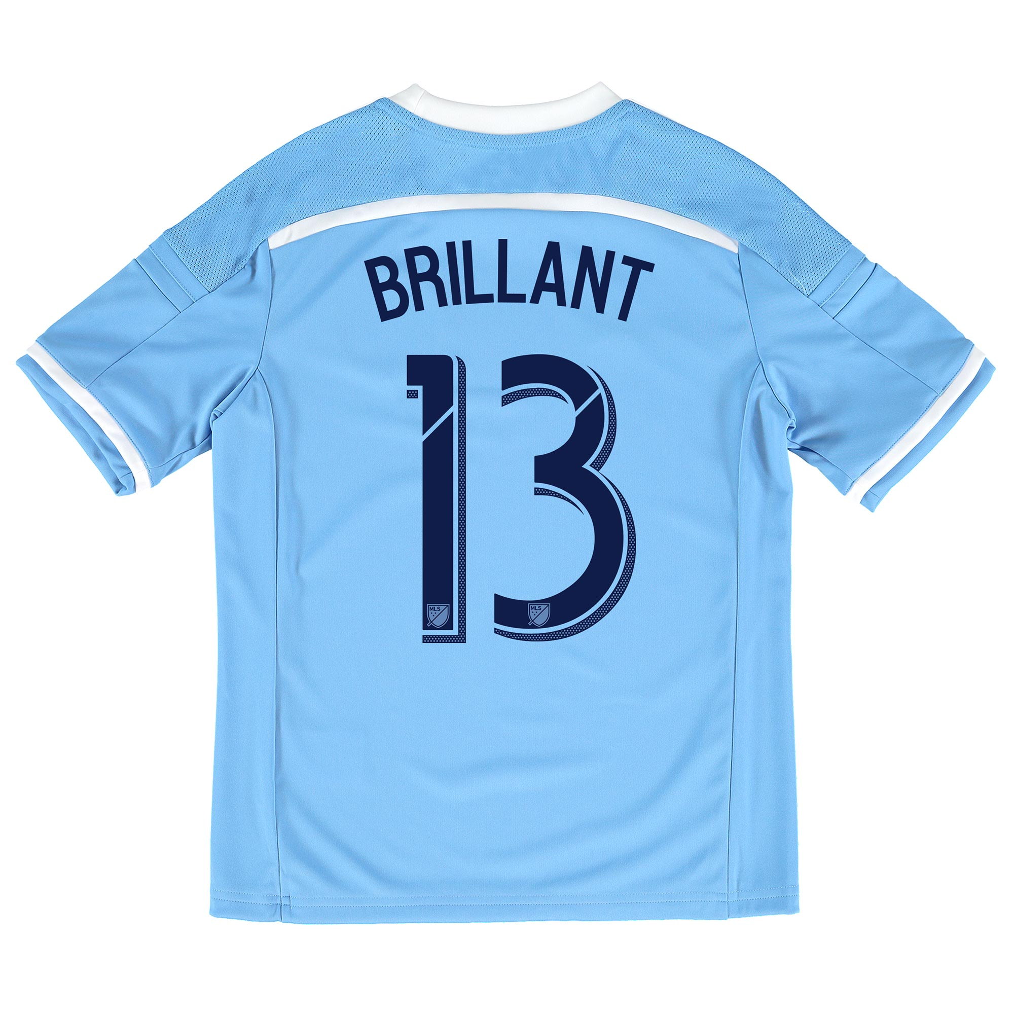 New York City FC Home Shirt 2015-16 - Kids with Brillant 13 printing