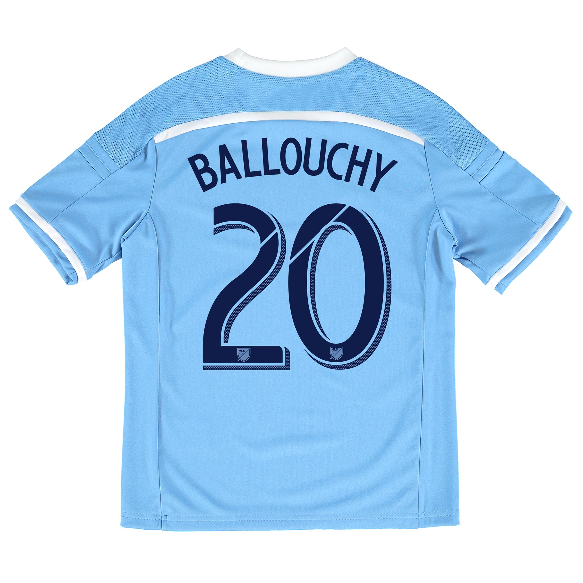 New York City FC Home Shirt 2015-16 - Kids with Ballouchy 20 printing