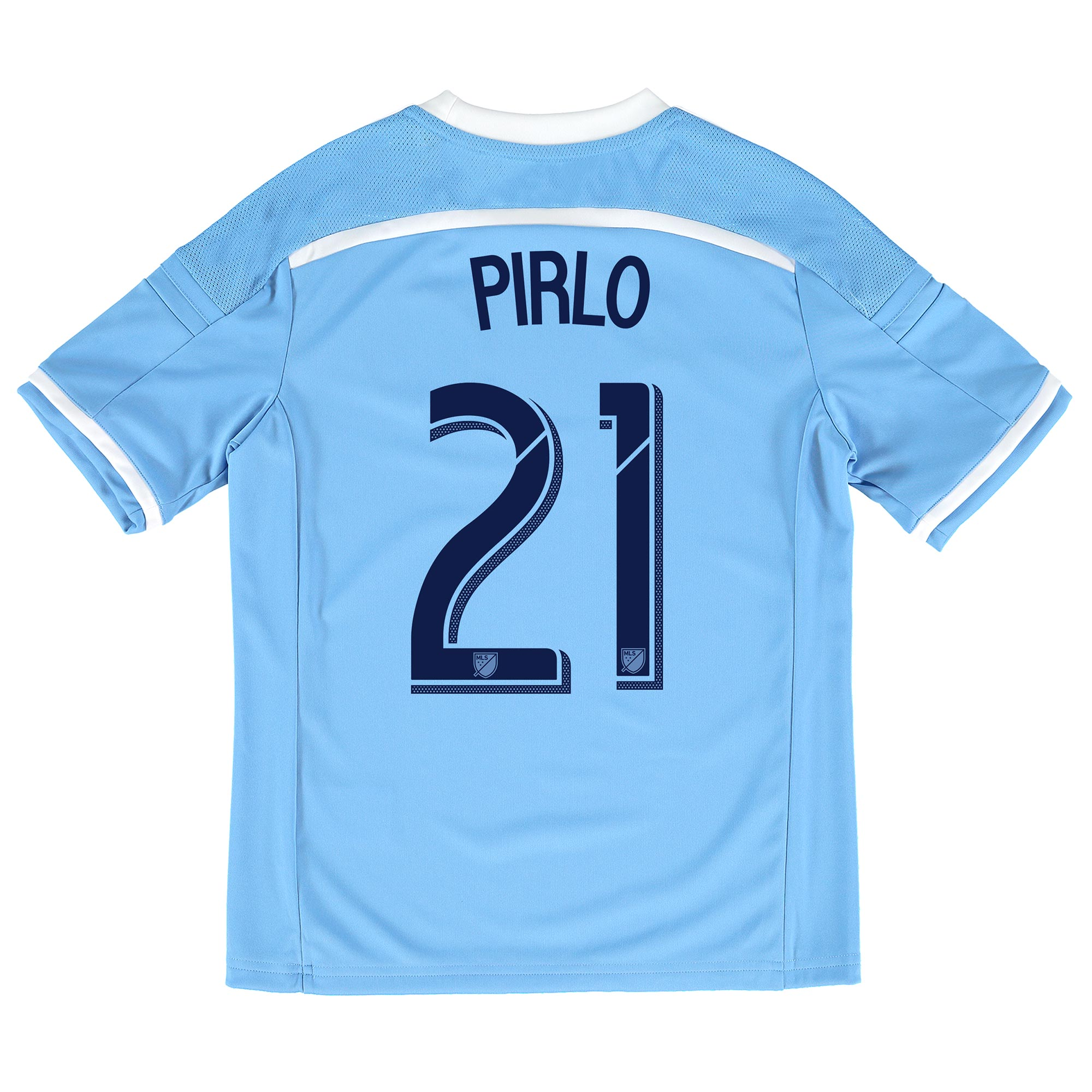 New York City FC Home Shirt 2015-16 - Kids with Andrea Pirlo 21 printi