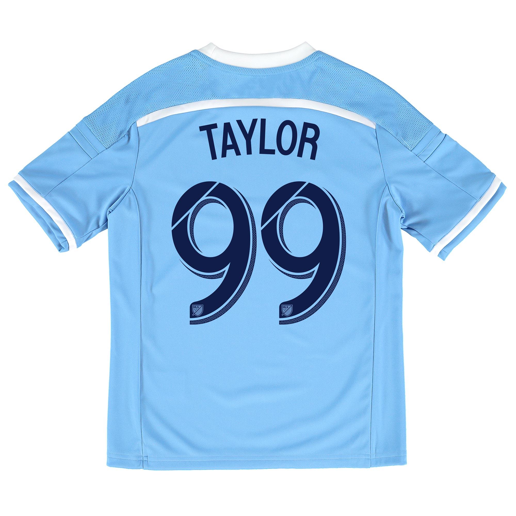 New York City FC Home Shirt 2015-16 - Kids with Taylor 99 printing