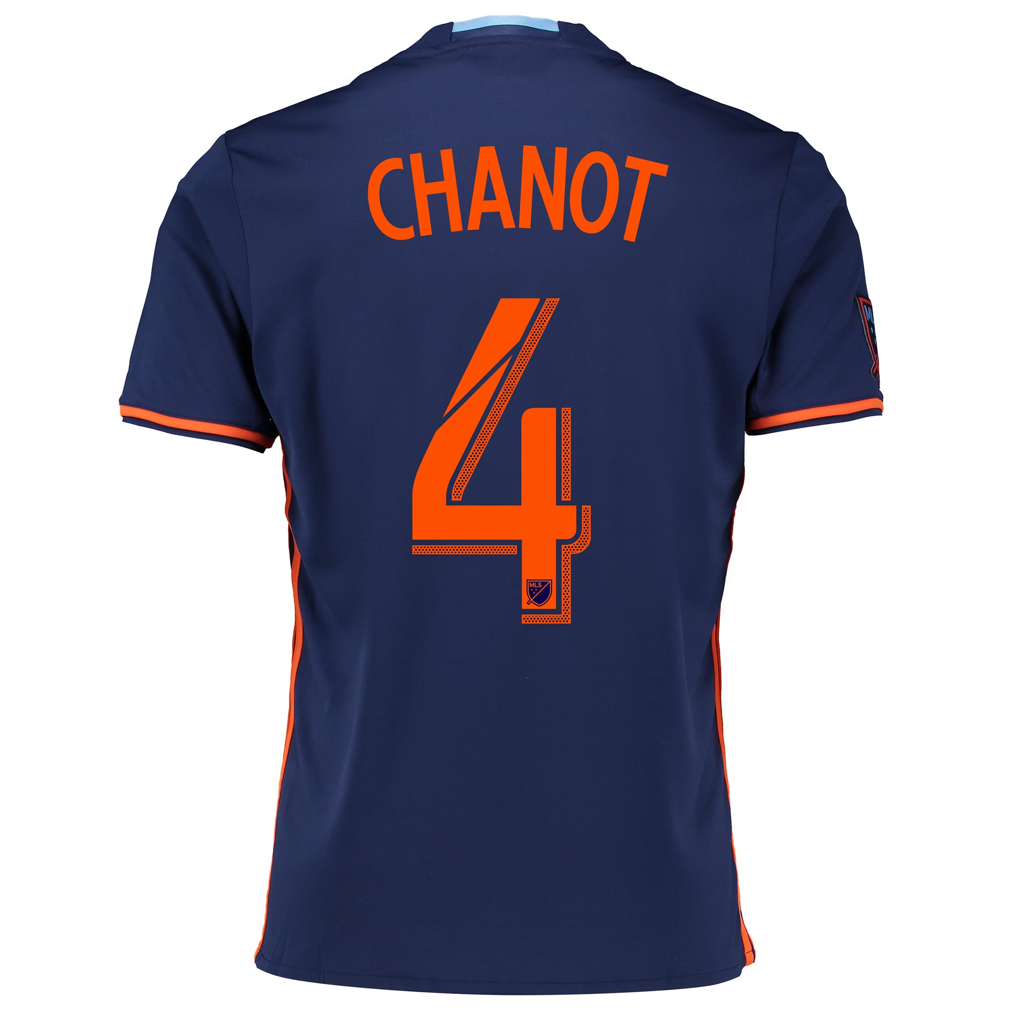 New York City FC Away Shirt 2016 with Chanot 4 printing
