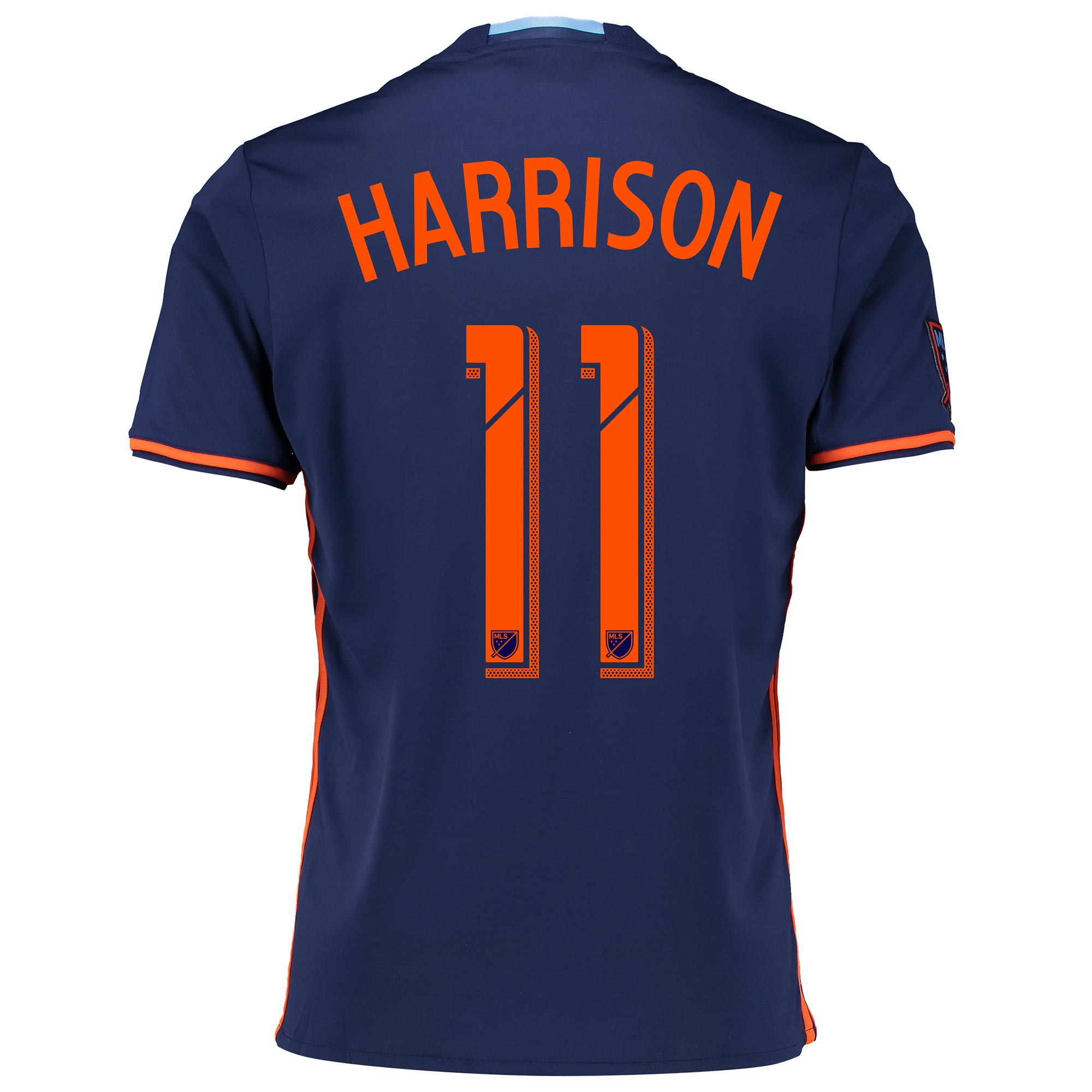 New York City FC Away Shirt 2016 with Harrison 11 printing