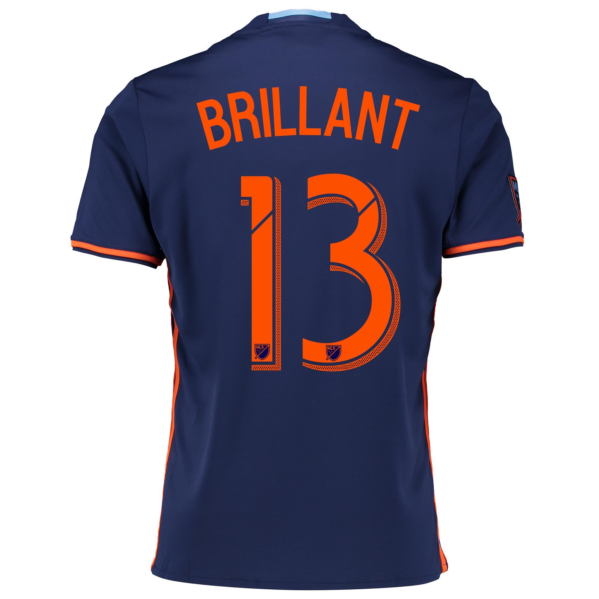 New York City FC Away Shirt 2016 with Brillant 13 printing