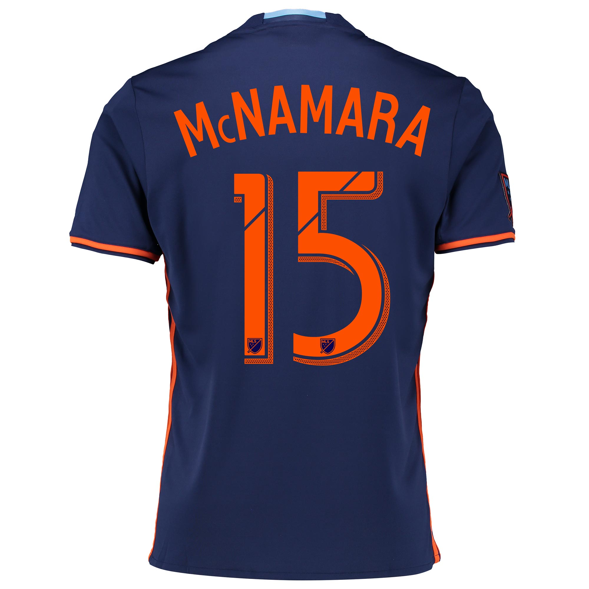 New York City FC Away Shirt 2016 with McNamara 15 printing