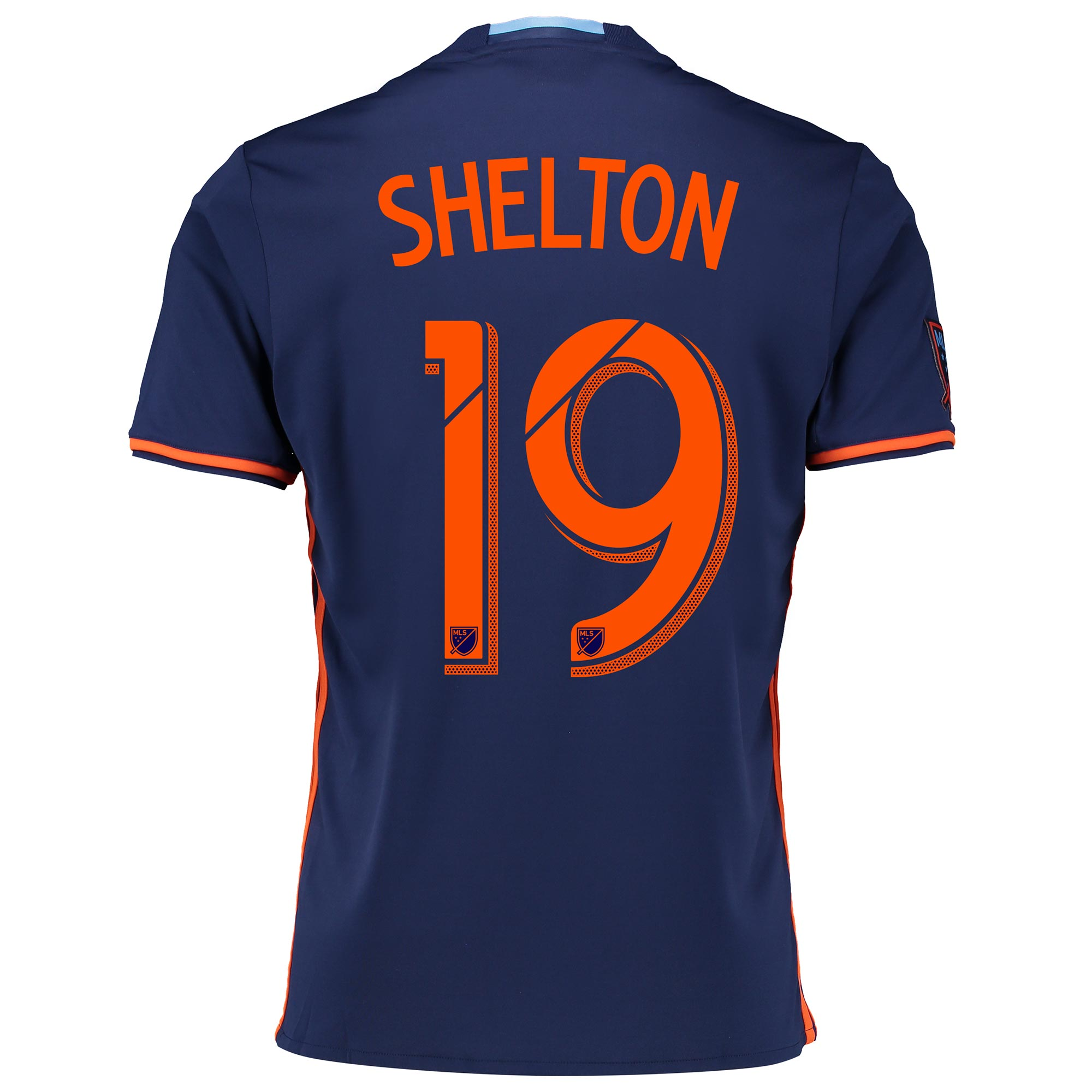 New York City FC Away Shirt 2016 with Khiry Shelton 19 printing