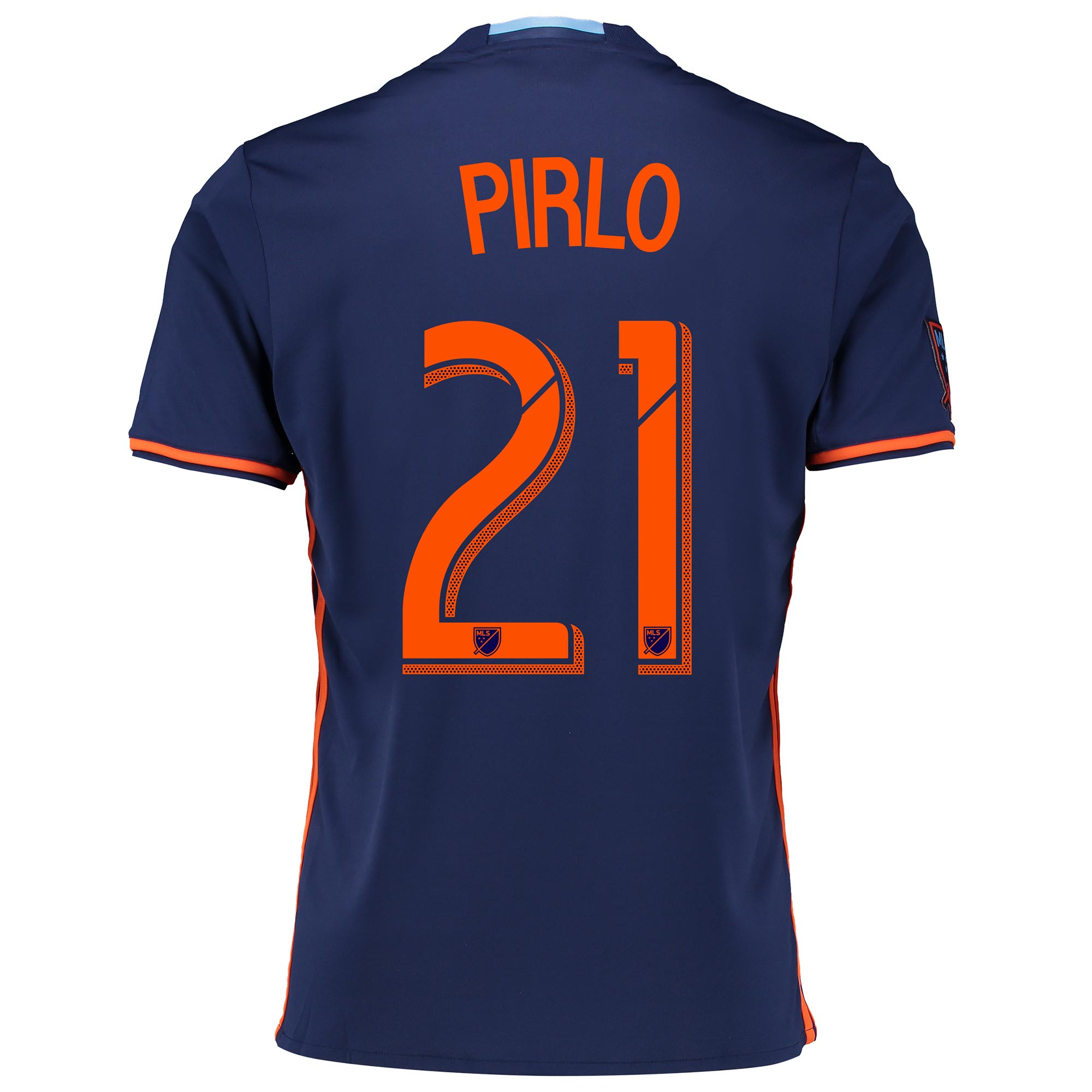 New York City FC Away Shirt 2016 with Andrea Pirlo 21 printing