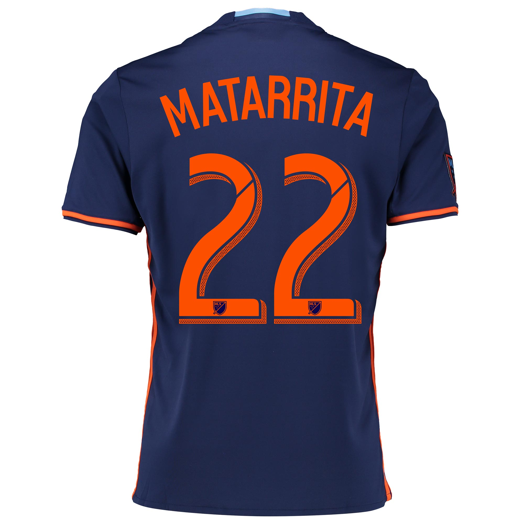 New York City FC Away Shirt 2016 with Matarrita 22 printing