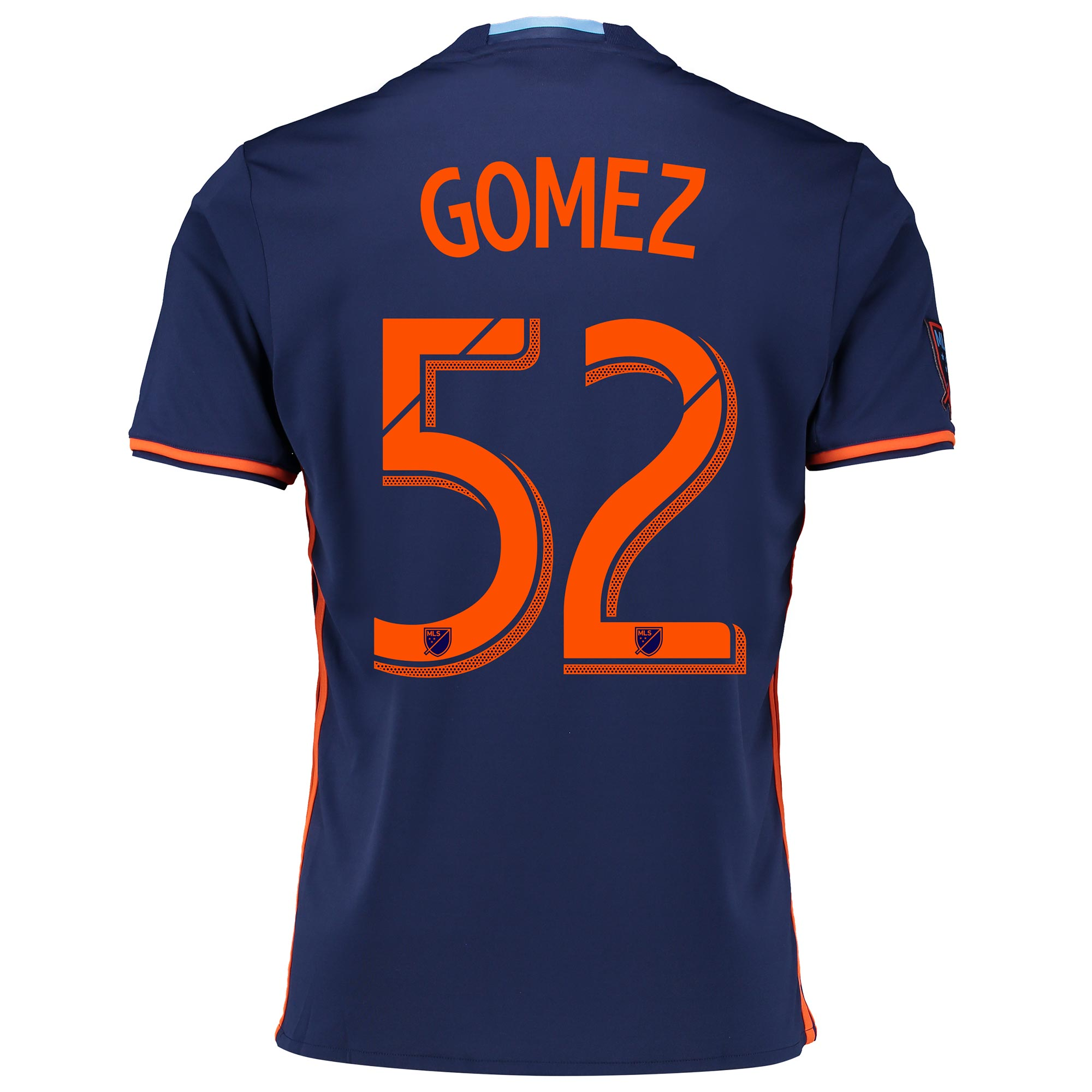 New York City FC Away Shirt 2016 with Gomez 52 printing