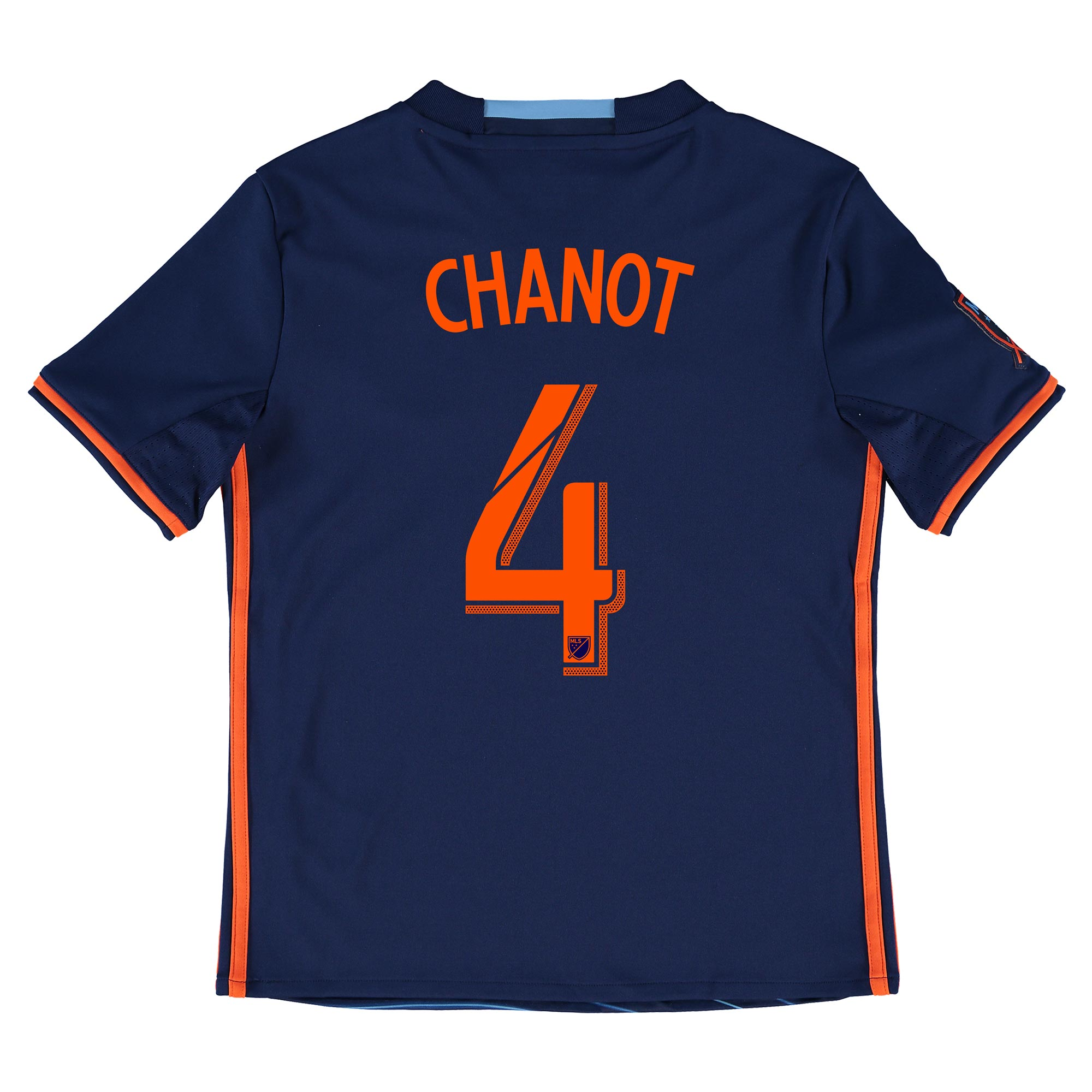 New York City FC Away Shirt 2016 - Kids with Chanot 4 printing
