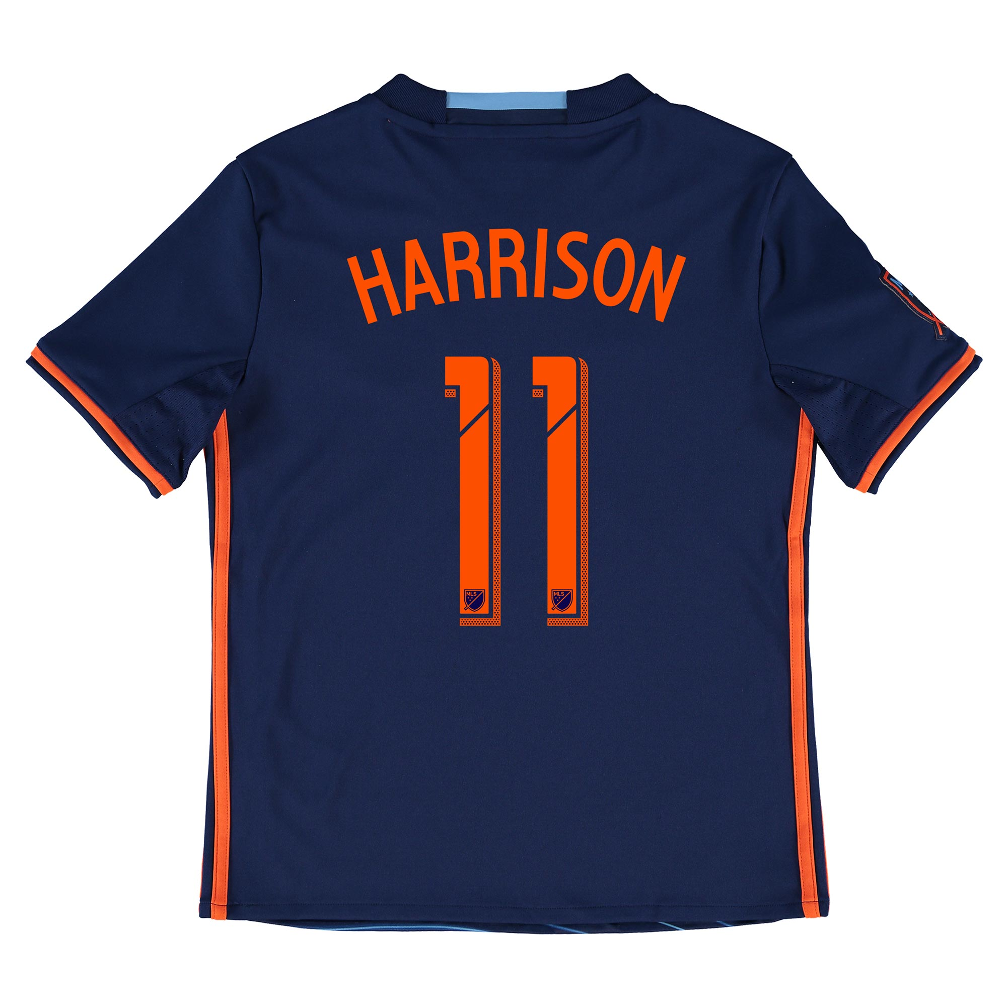 New York City FC Away Shirt 2016 - Kids with Harrison 11 printing