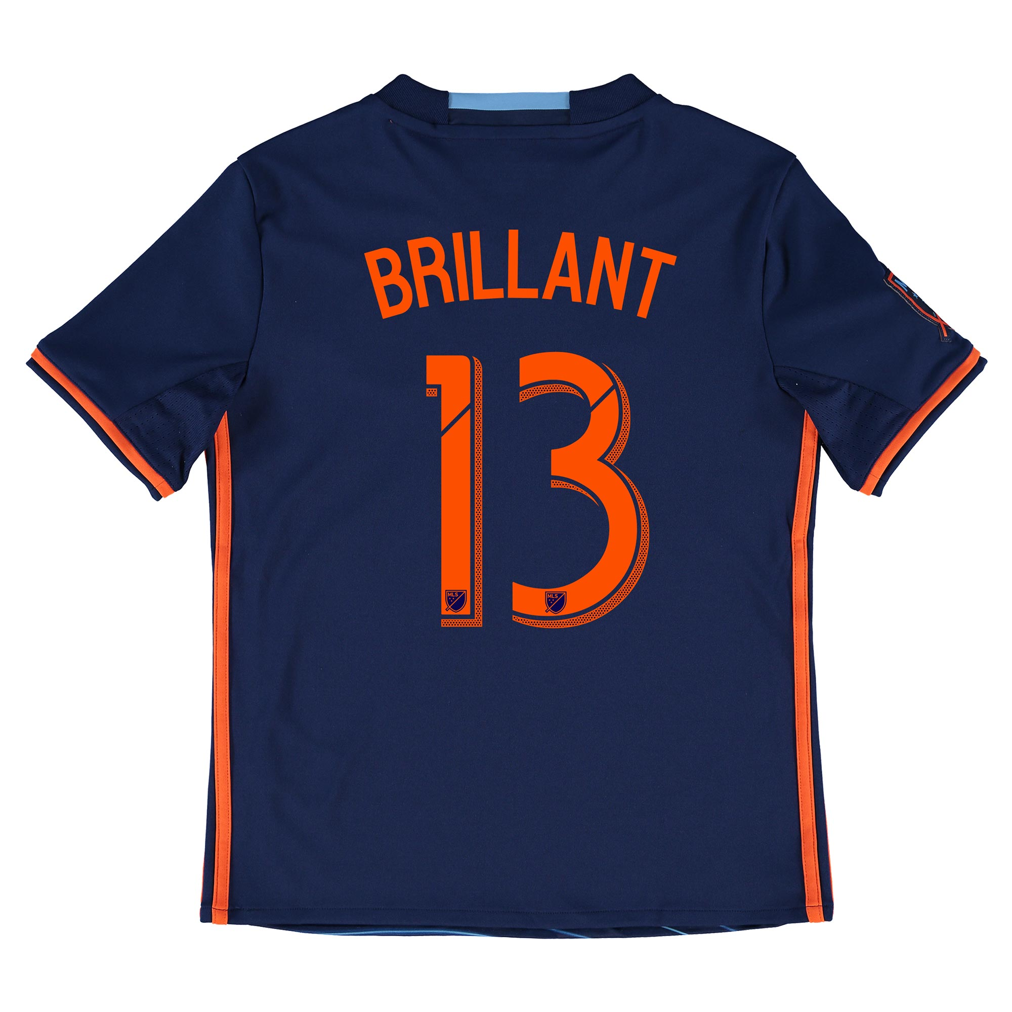 New York City FC Away Shirt 2016 - Kids with Brillant 13 printing