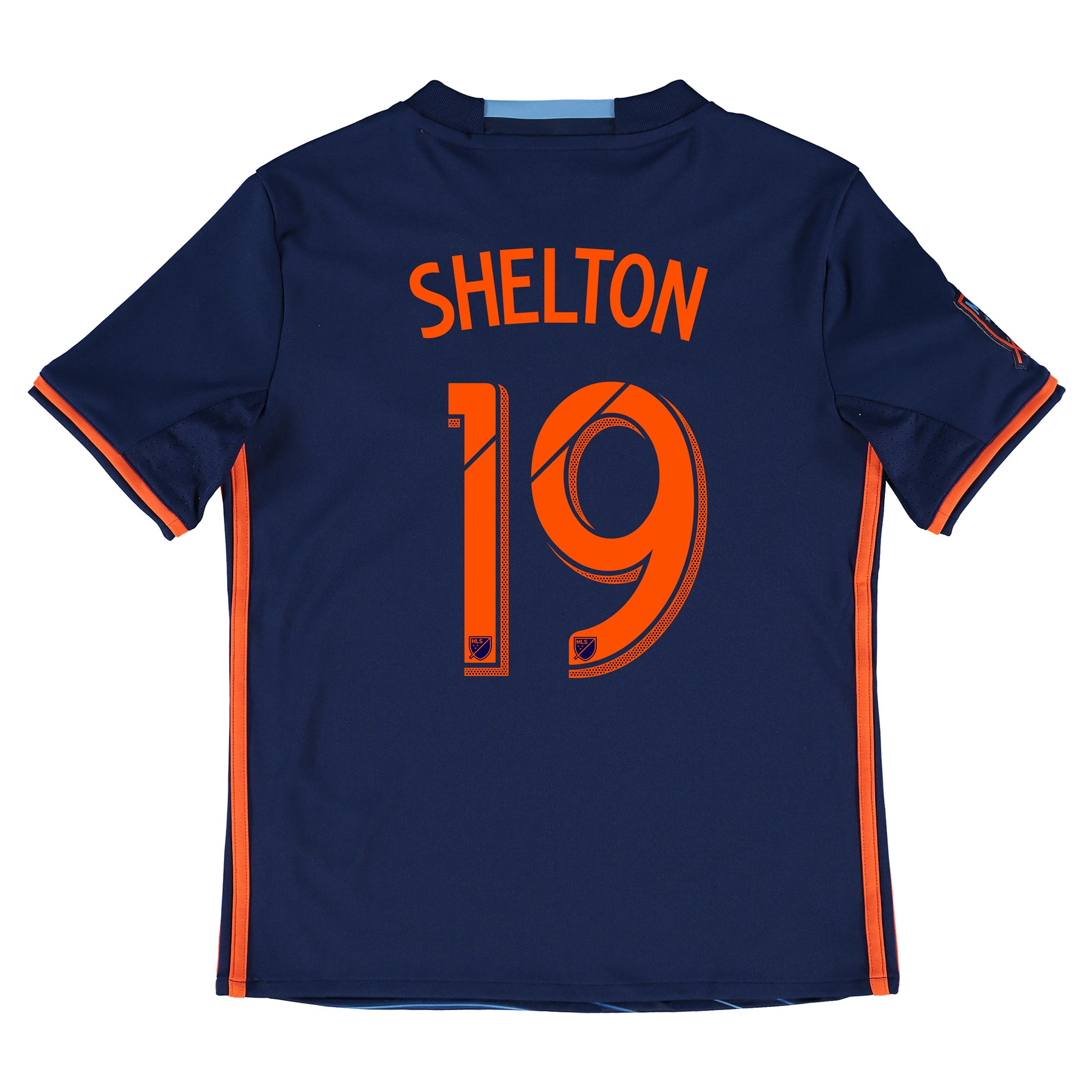 New York City FC Away Shirt 2016 - Kids with Khiry Shelton 19 printing