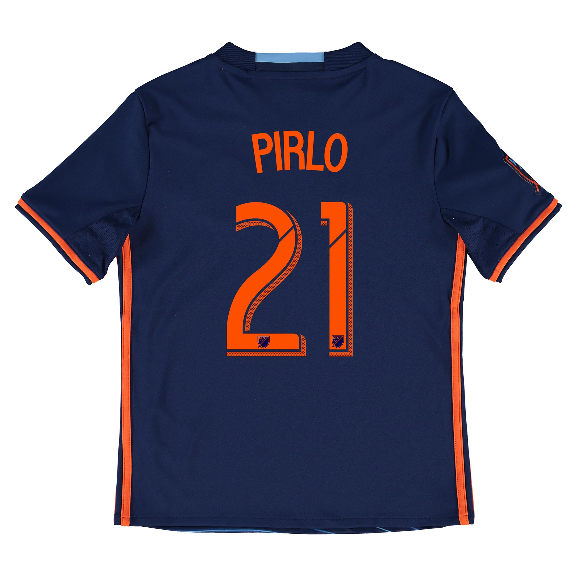 New York City FC Away Shirt 2016 - Kids with Andrea Pirlo 21 printing