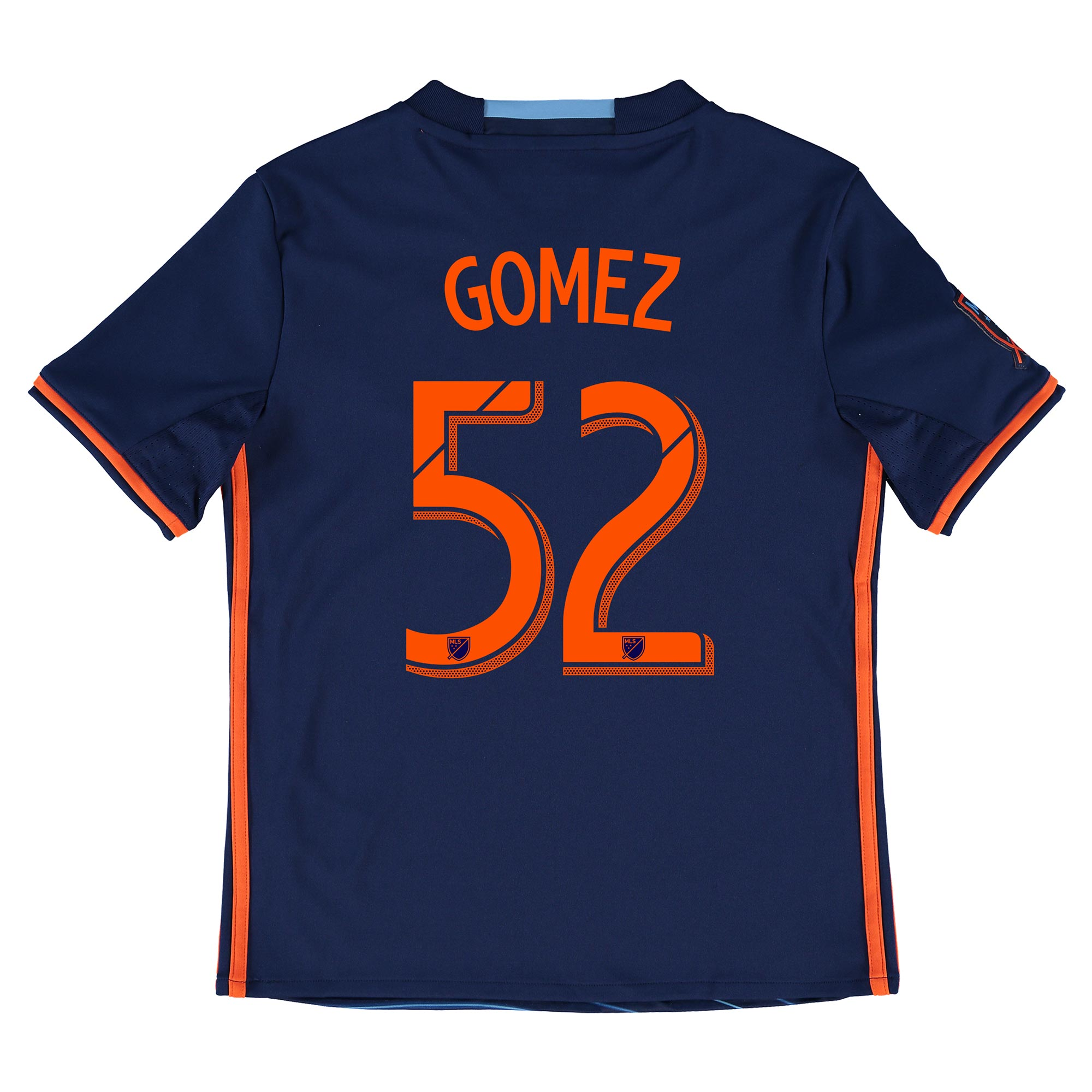New York City FC Away Shirt 2016 - Kids with Gomez 52 printing