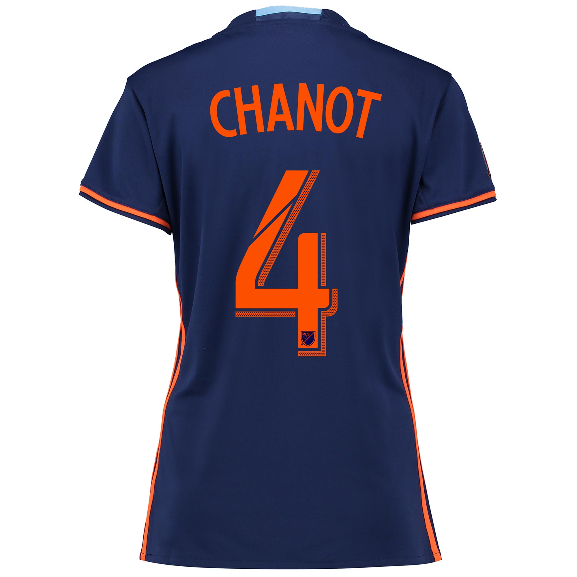 New York City FC Away Shirt 2016 - Womens with Chanot 4 printing