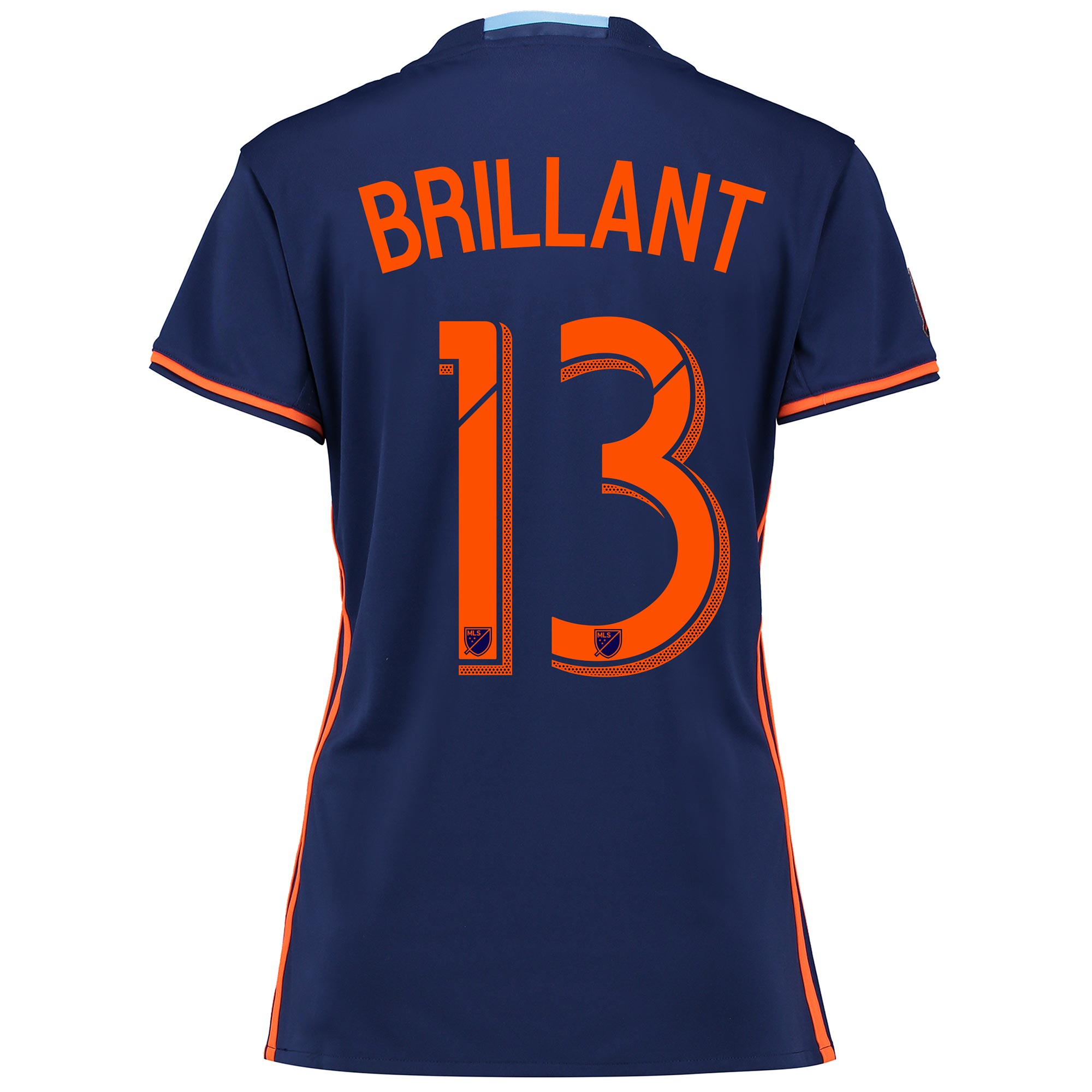 New York City FC Away Shirt 2016 - Womens with Brillant 13 printing