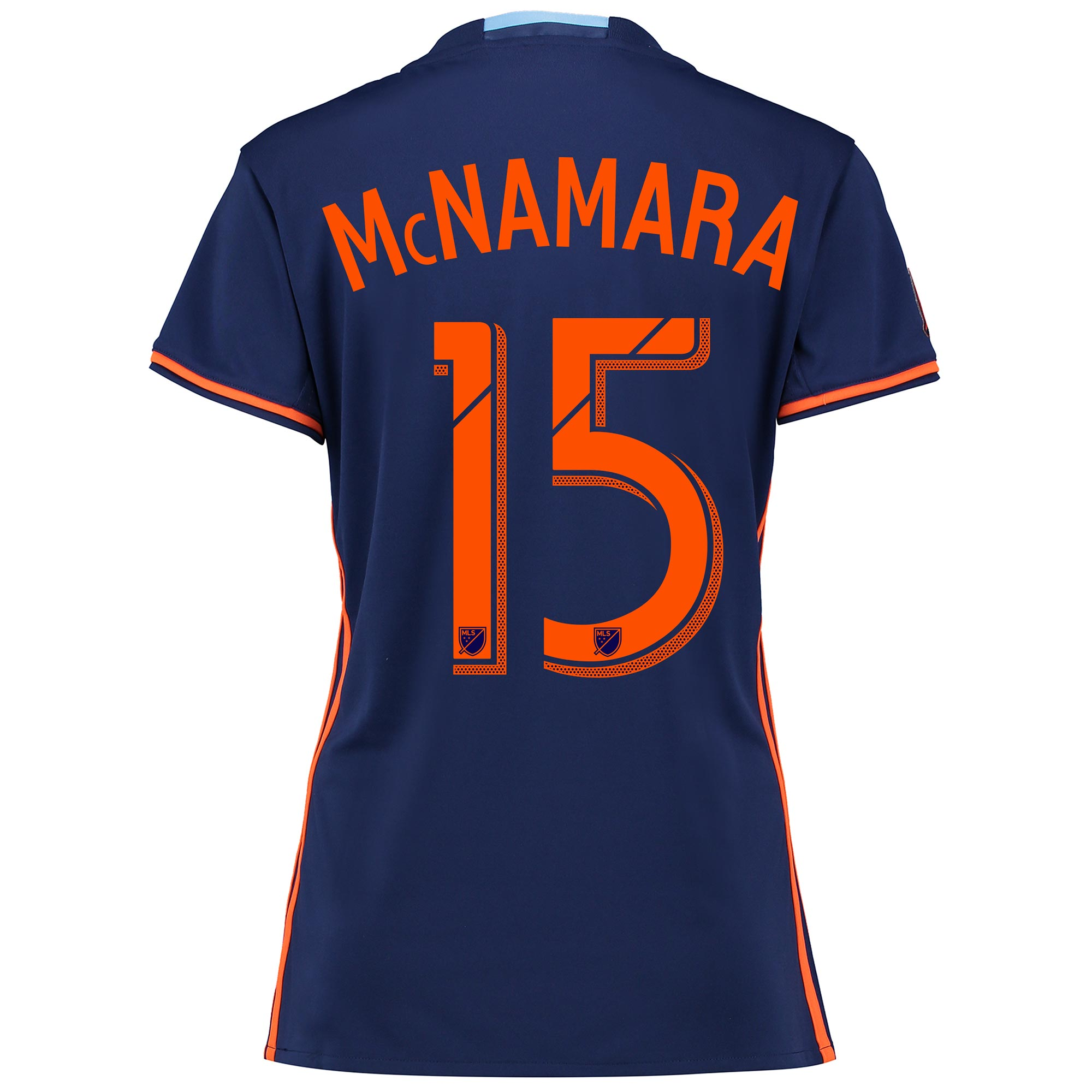 New York City FC Away Shirt 2016 - Womens with McNamara 15 printing