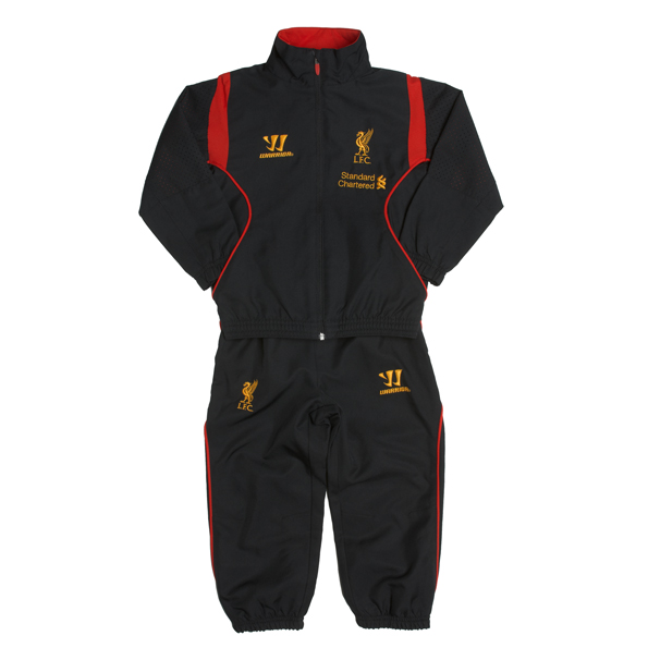 Liverpool Training Presentation Suit - Black - Infants