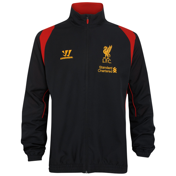 Liverpool Training Presentation Jacket - Black - Youths