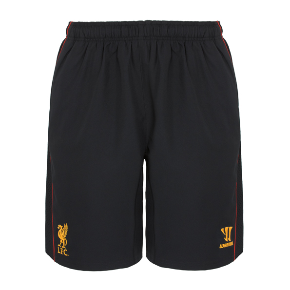 Liverpool Training Woven Short - Black