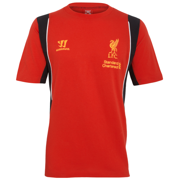 Liverpool Training Cotton T-Shirt	 - High Risk Red/Black