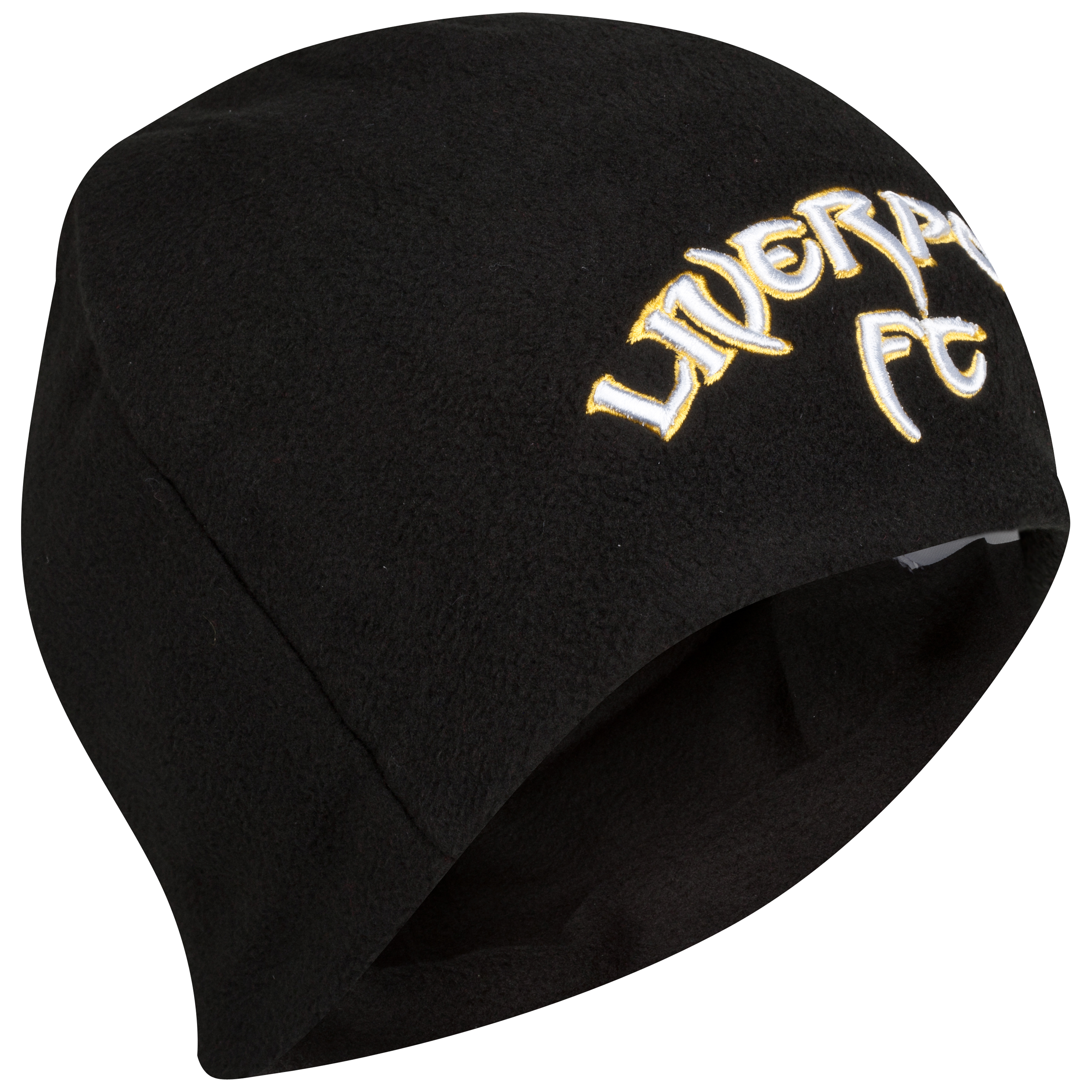 Liverpool Fleece Beanie - Black